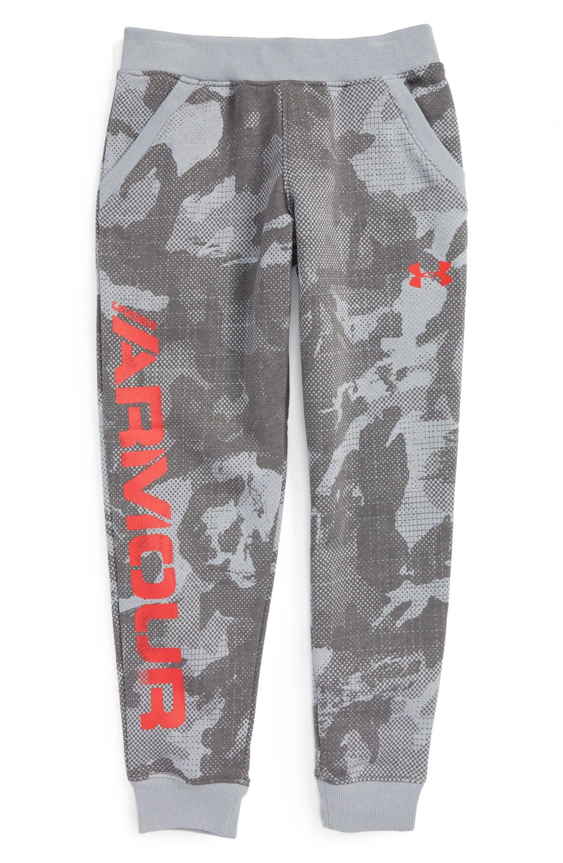 UNDER ARMOUR 'Sportstyle' Printed ColdGear® Jogger Pants