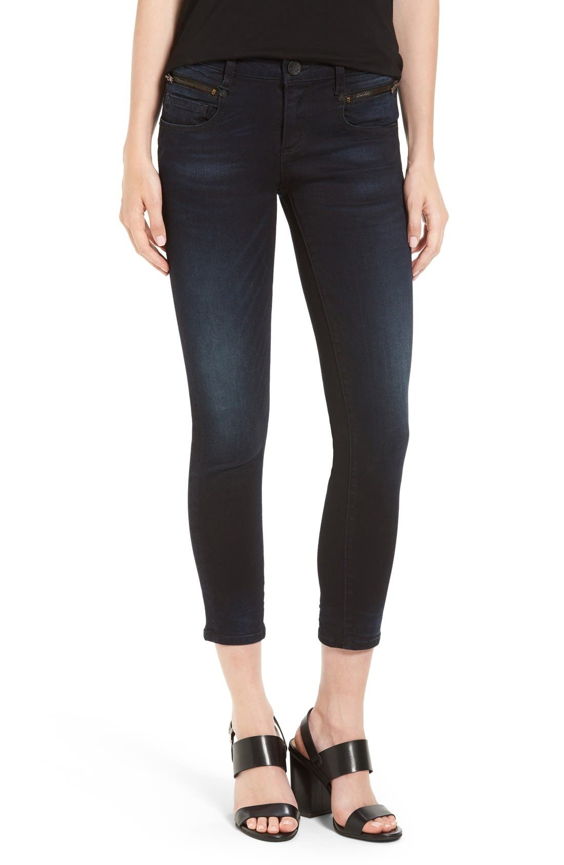 Alternate Image 1 Selected - KUT from the Kloth Stretch Crop Skinny Jeans (Refresh)