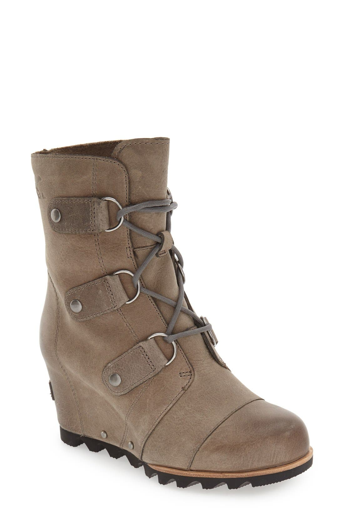 SOREL 'Joan of Arctic' Waterproof Wedge Boot (Women) | Nordstrom