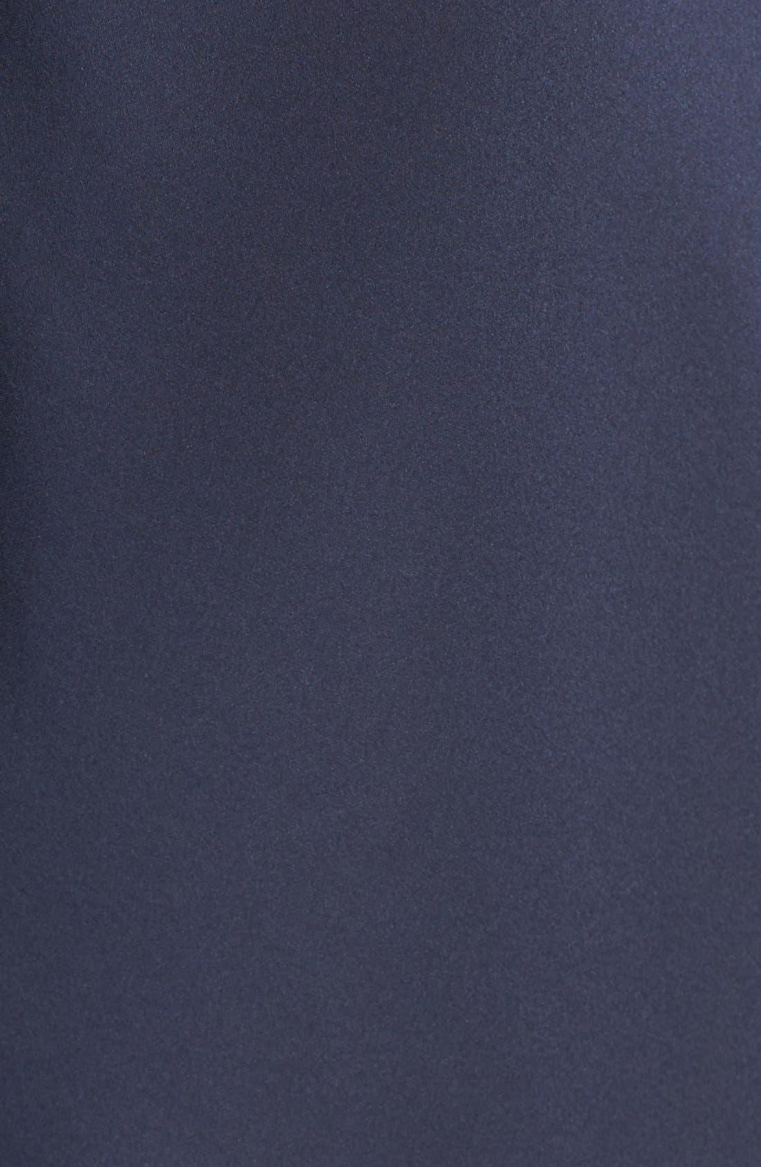 Alternate Image 5  - Helmut Lang Drape Back Silk Satin Dress