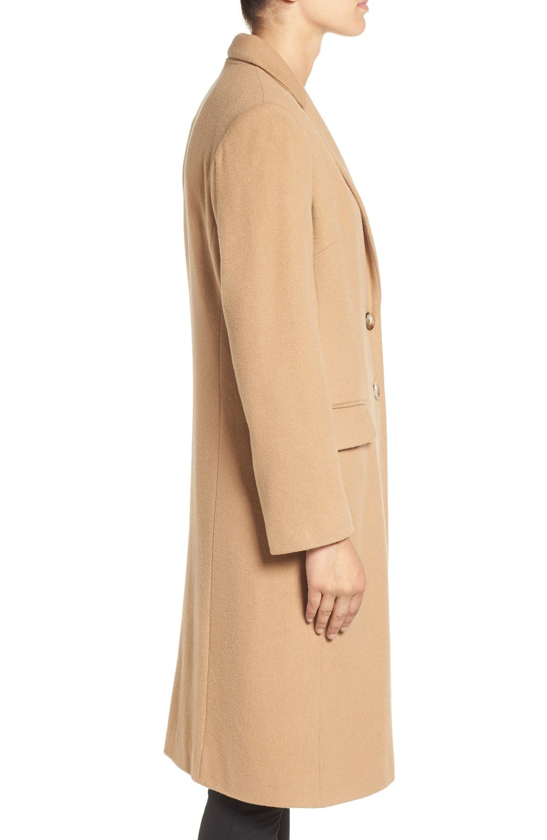 Alternate Image 3  - Helene Berman Wool Blend College Coat
