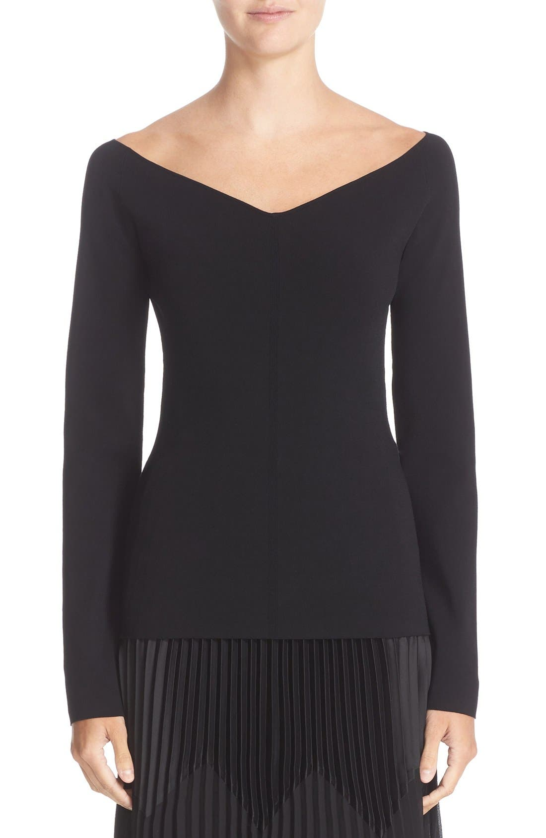 NORDSTROM SIGNATURE AND CAROLINE ISSA Off the Shoulder