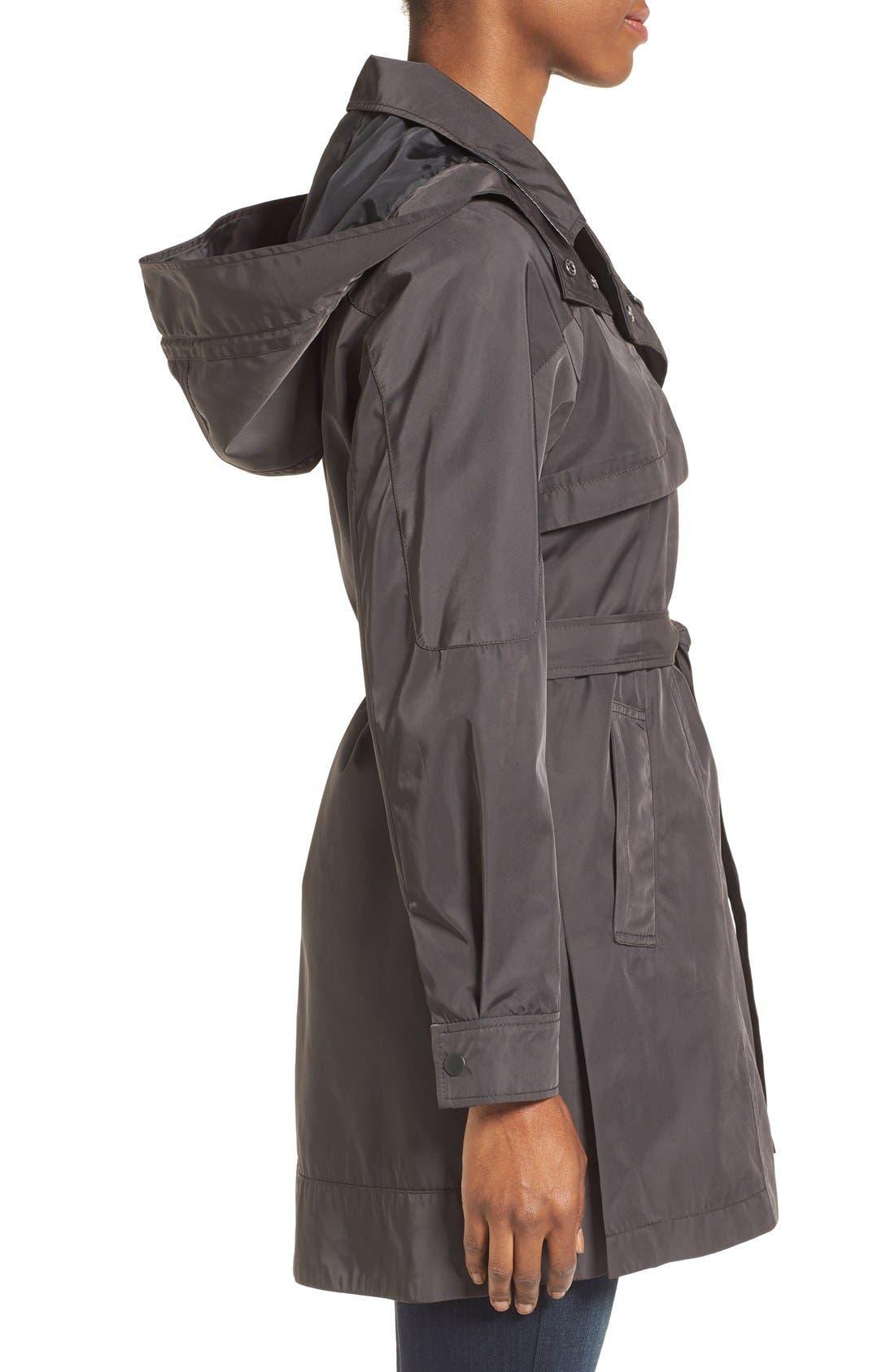 Alternate Image 3  - Kristen Blake Water Repellent Trench Coat