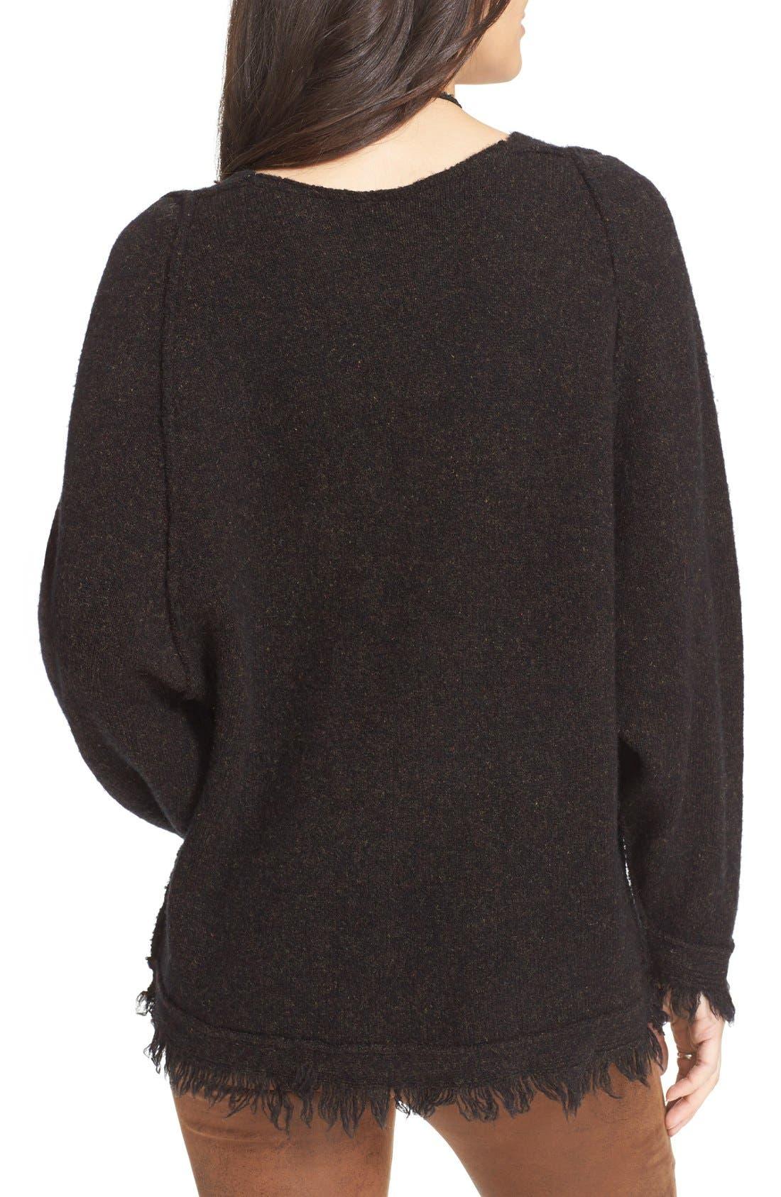 Alternate Image 2  - Free People Irresistible Fringe Trim Sweater