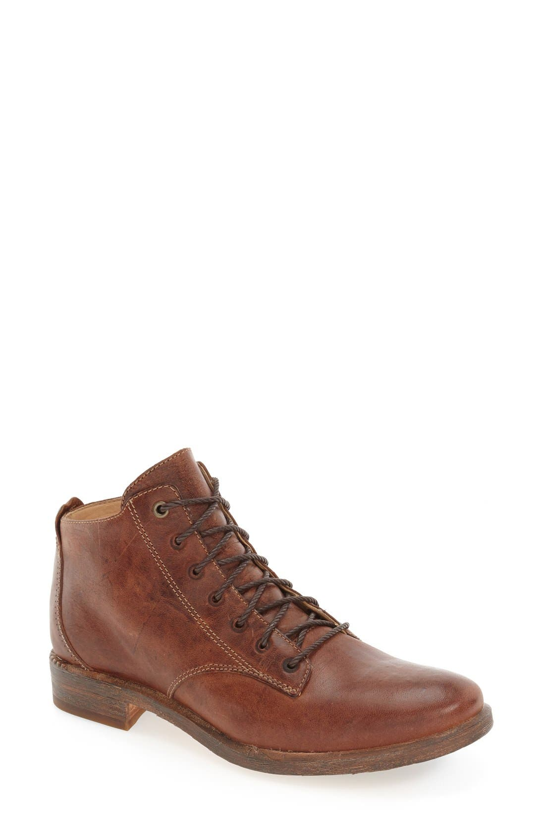 Alternate Image 1 Selected - Timberland 'Lucille' Lace-Up Bootie (Women)