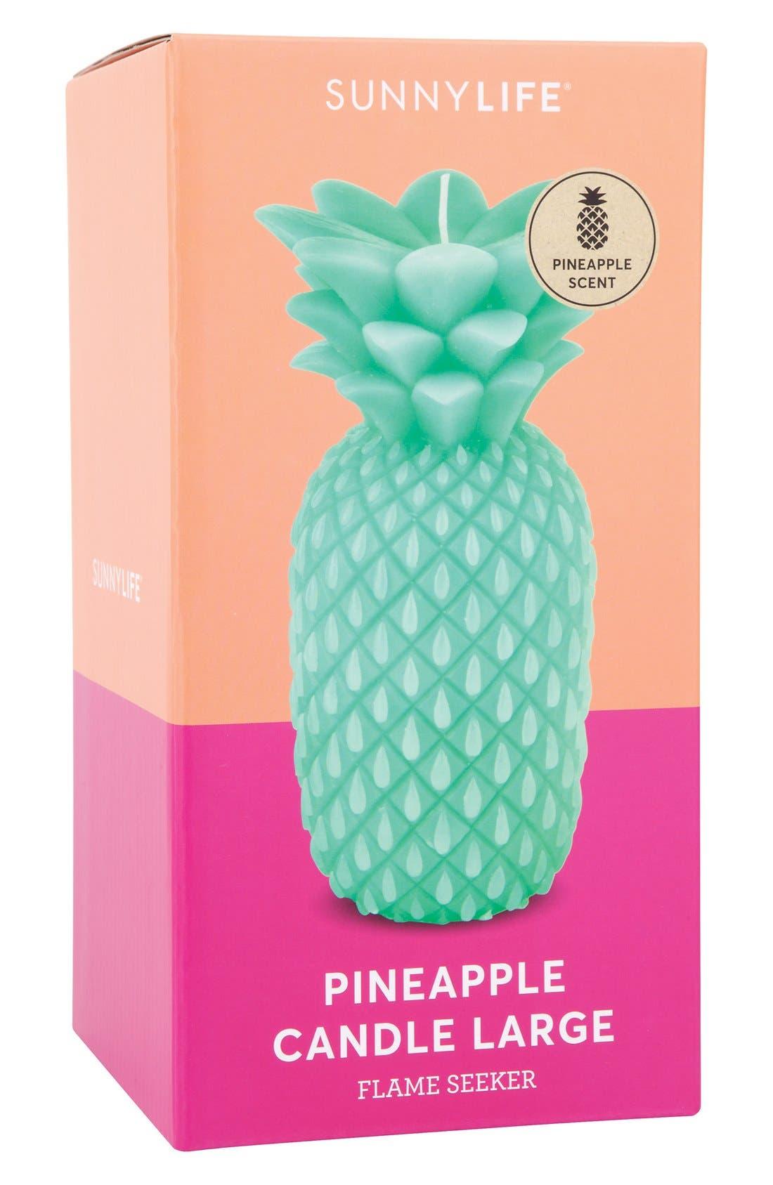 Alternate Image 4  - Sunnylife Pineapple Candle