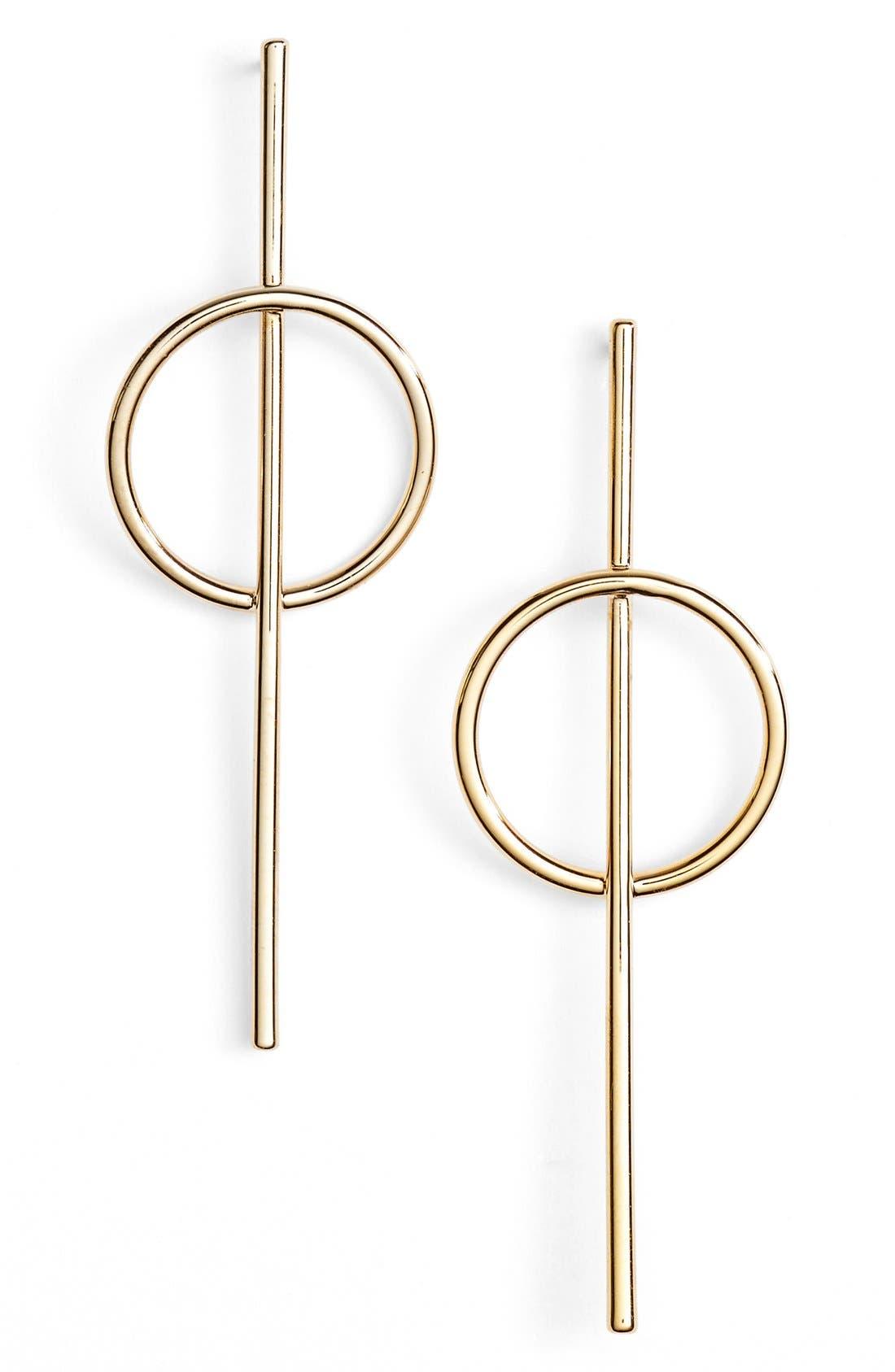 Alternate Image 1 Selected - Argento Vivo Bar Drop Earrings