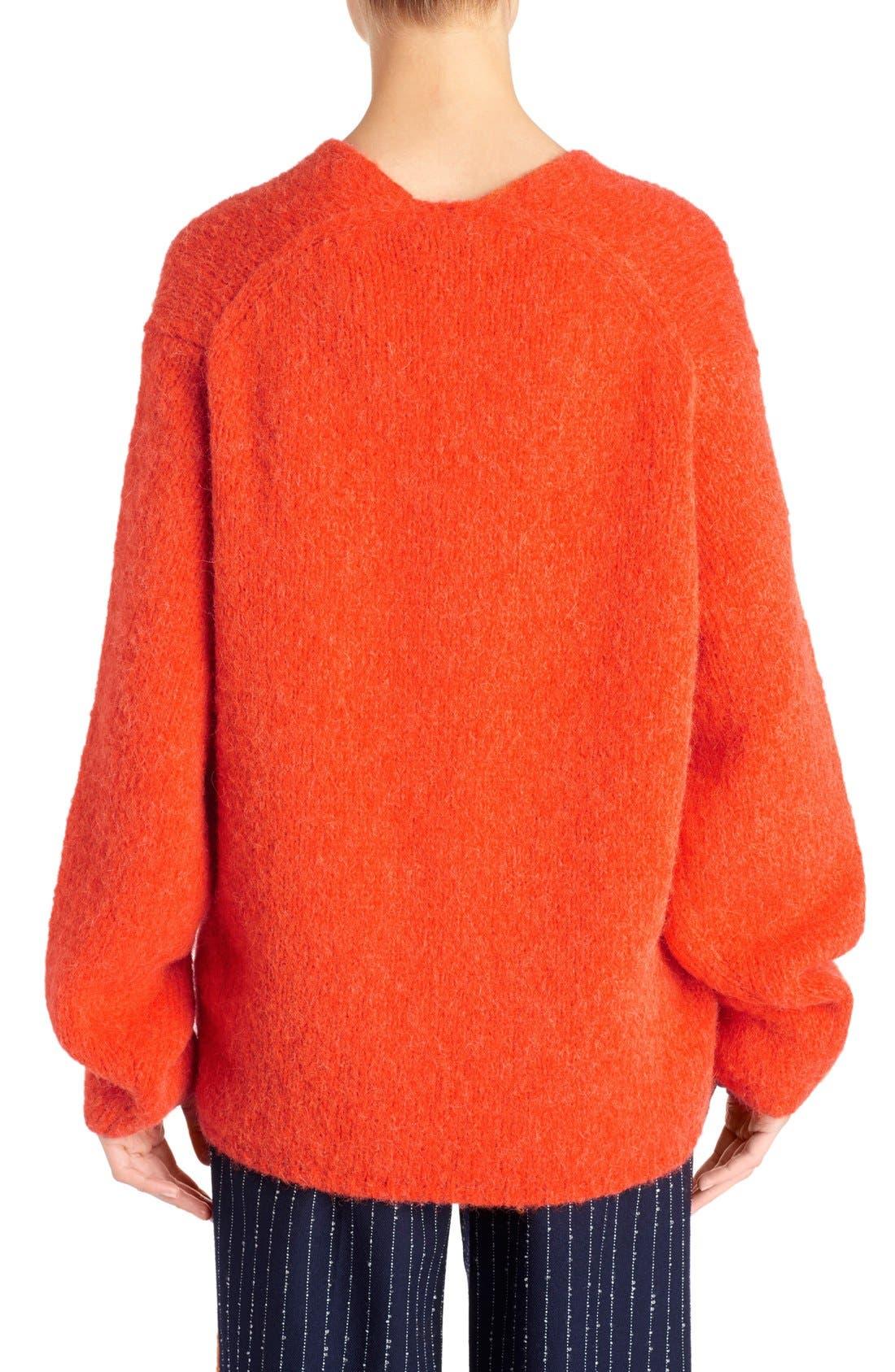 Alternate Image 2  - ACNE Studios 'Deborah' Oversized Alpaca Blend Sweater