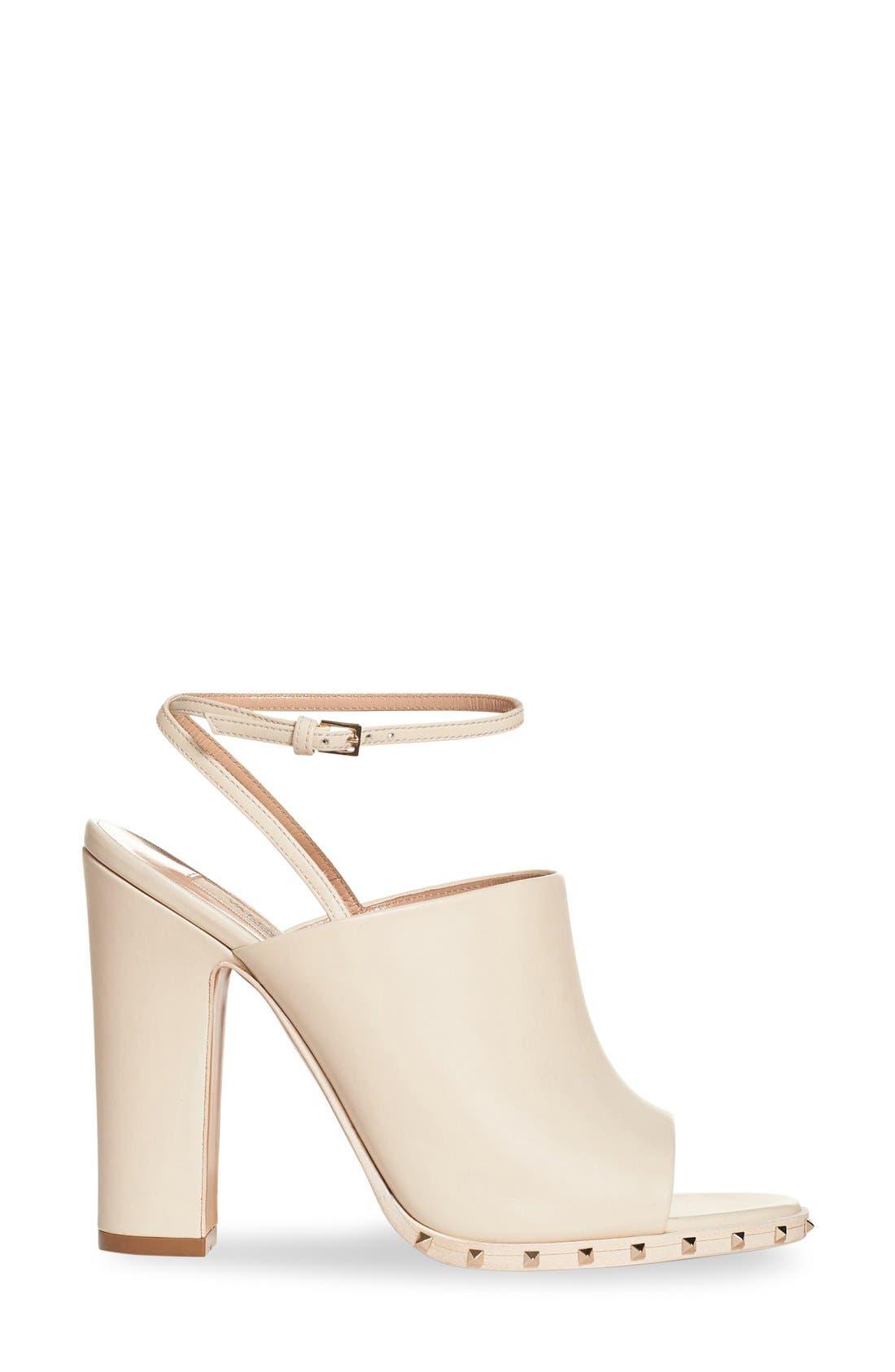 Alternate Image 4  - Valentino 'Soul Stud' Peep Toe Sandal (Women)