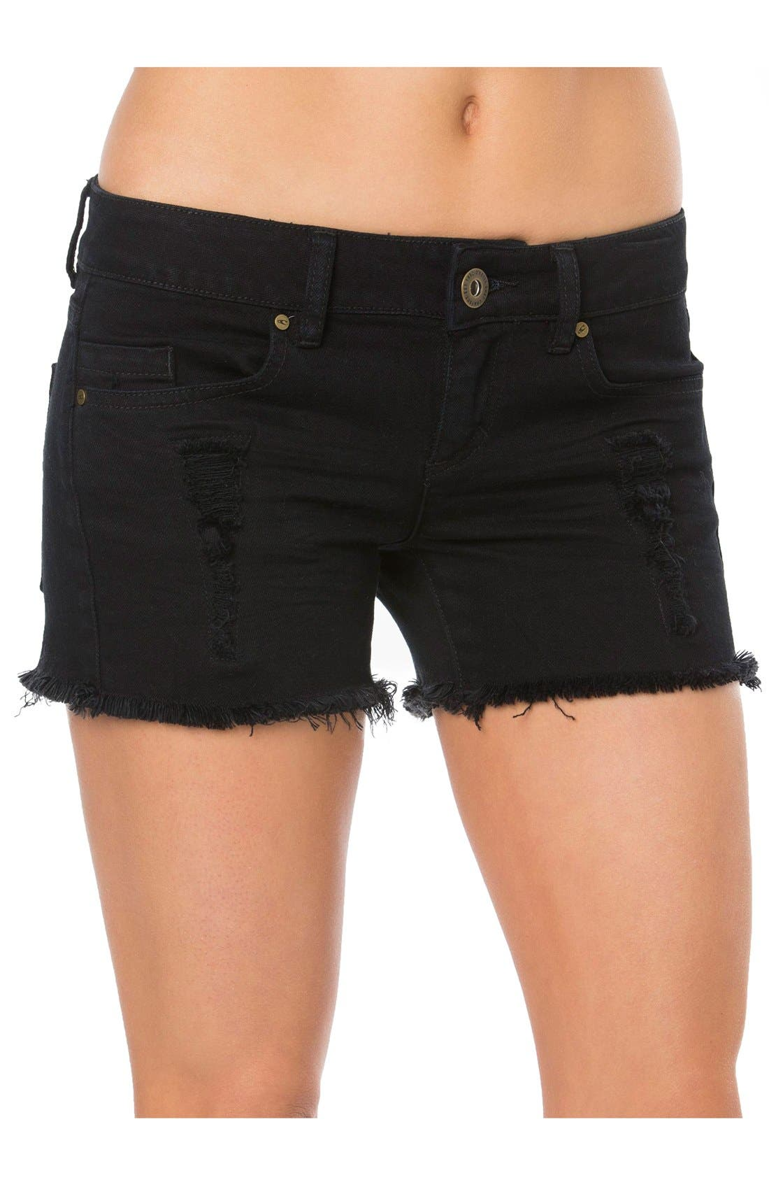 Alternate Image 1 Selected - O'Neill 'Scout' Denim Cutoff Shorts