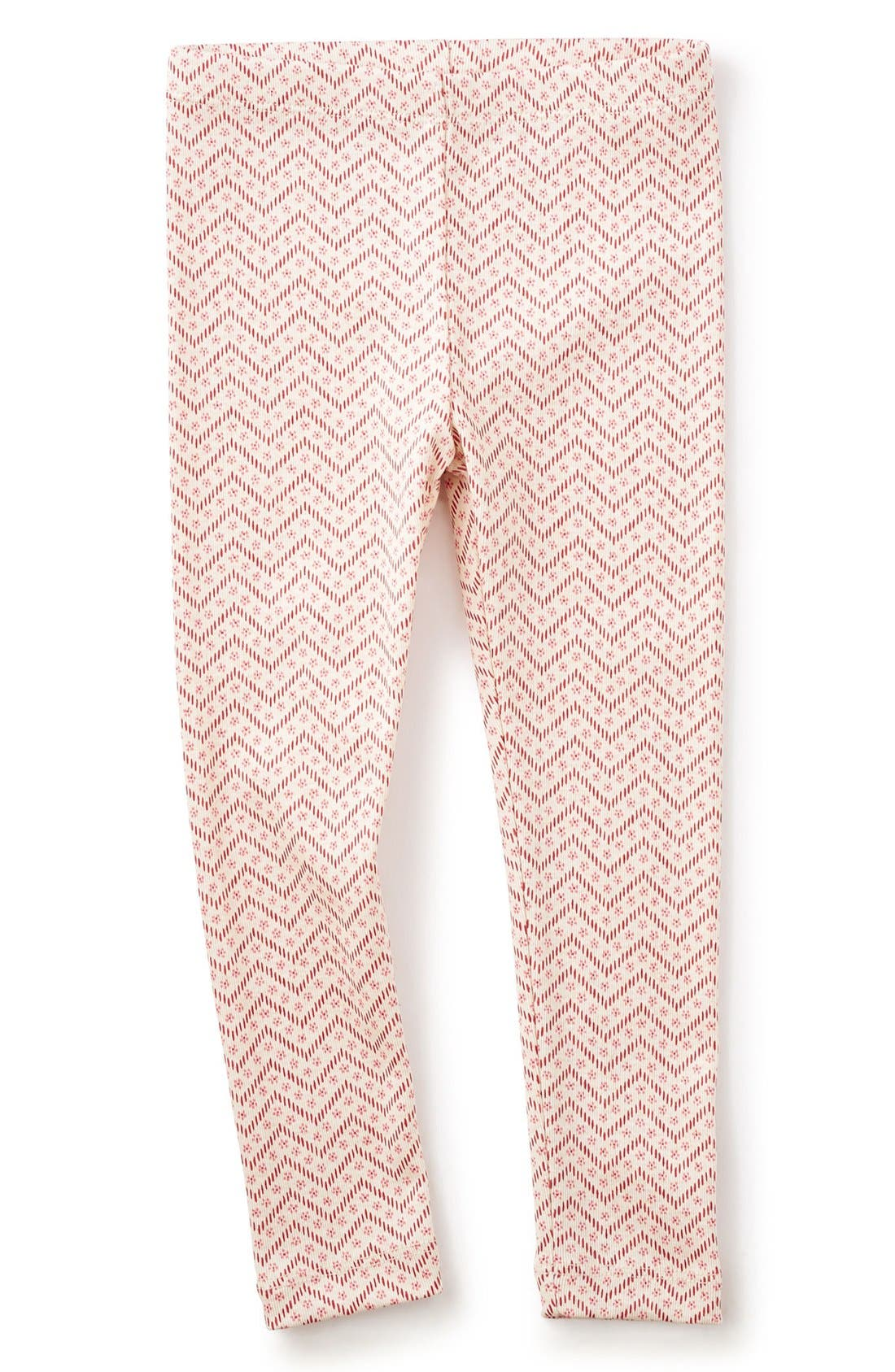 Alternate Image 1 Selected - Tea Collection Zigzag Leggings (Toddler Girls, Little Girls & Big Girls)