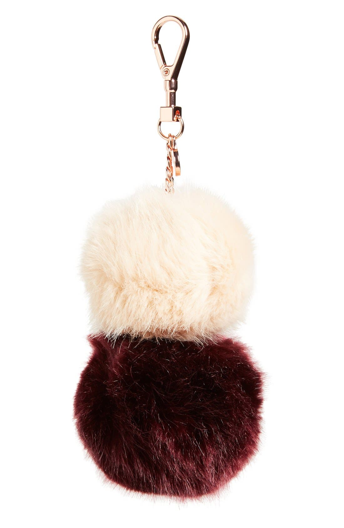 Main Image - Ted Baker London Faux Fur Bag Charm