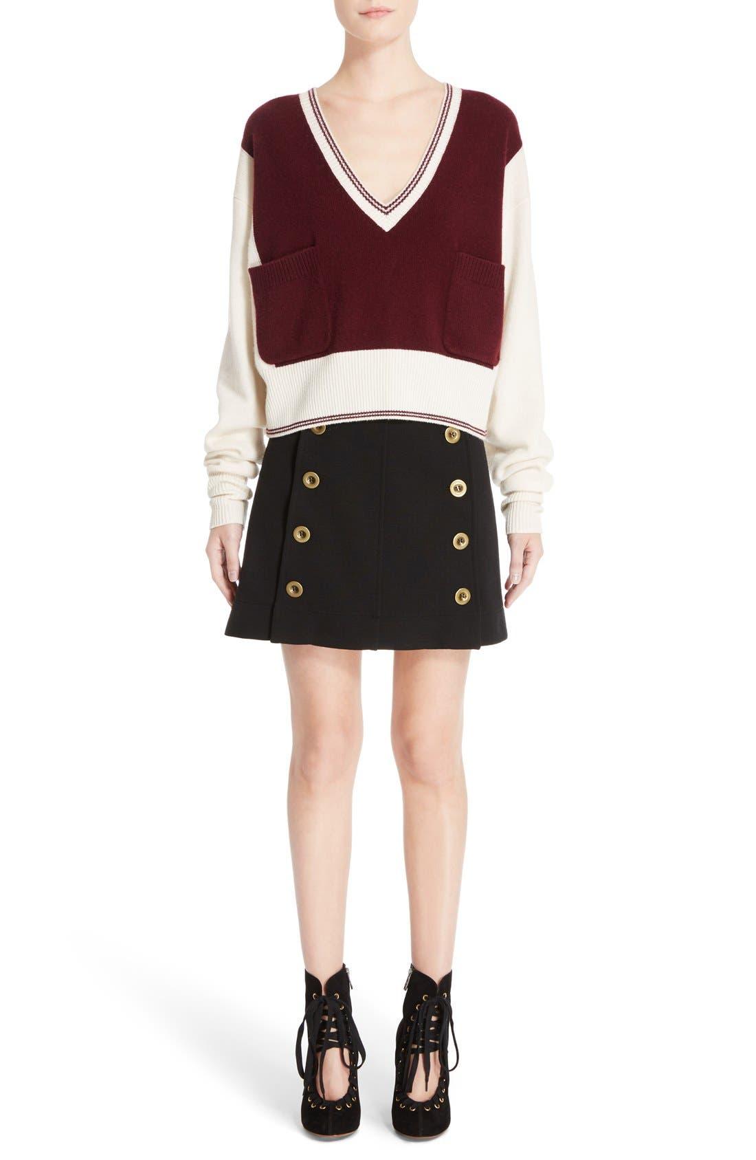 Alternate Image 7  - Chloé Bicolor Sweater