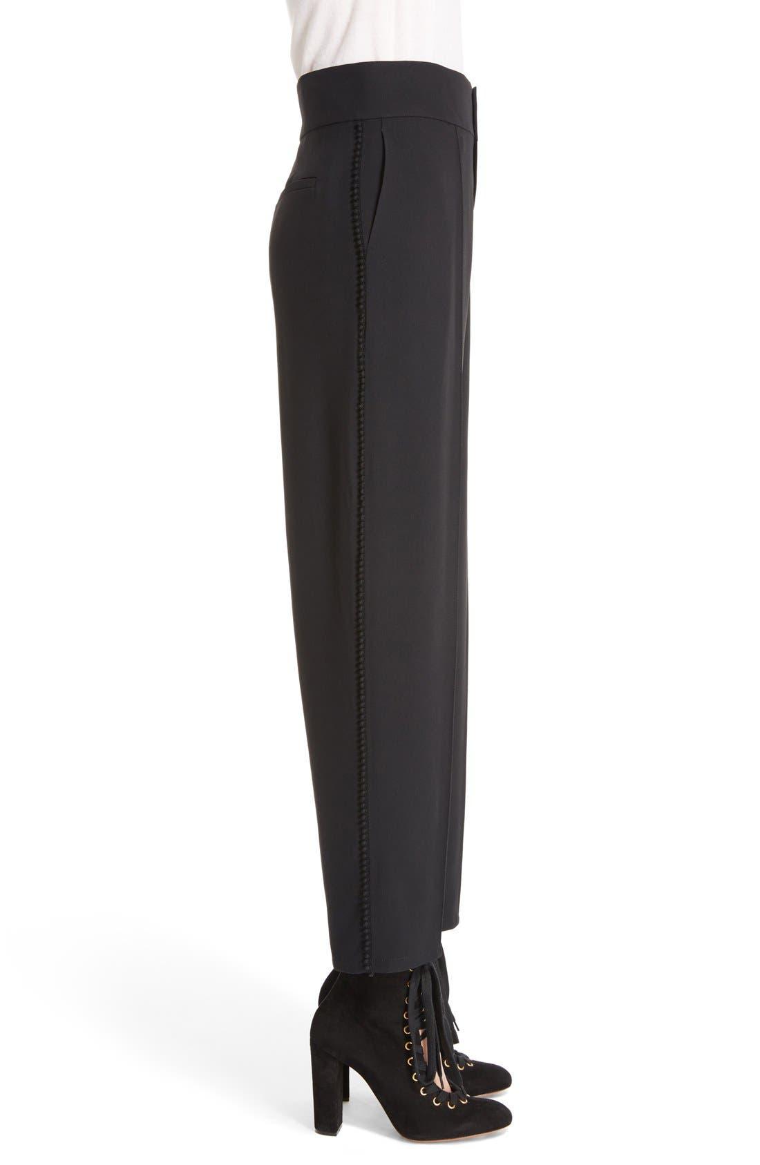 Alternate Image 4  - Chloé Pompom Side Stripe Pants