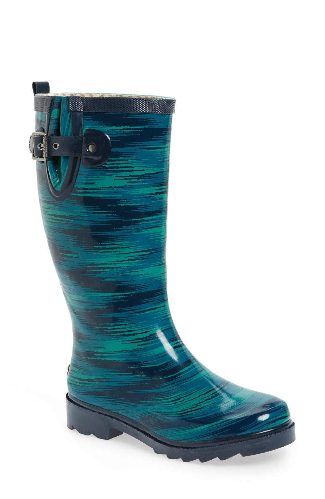 CHOOKA 'Electric Ikat' Rain Boot
