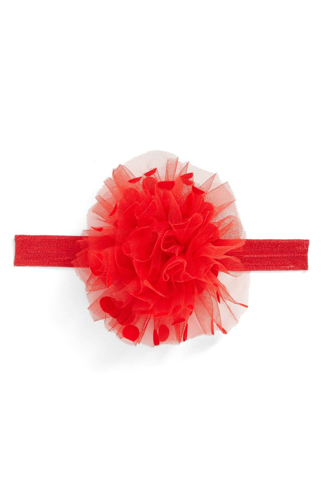 PLH Bows & Laces Polka Dot Headband (Baby Girls)