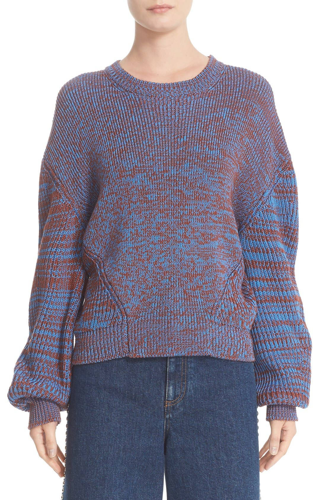 STELLA MCCARTNEY Mélange Rib Sweater