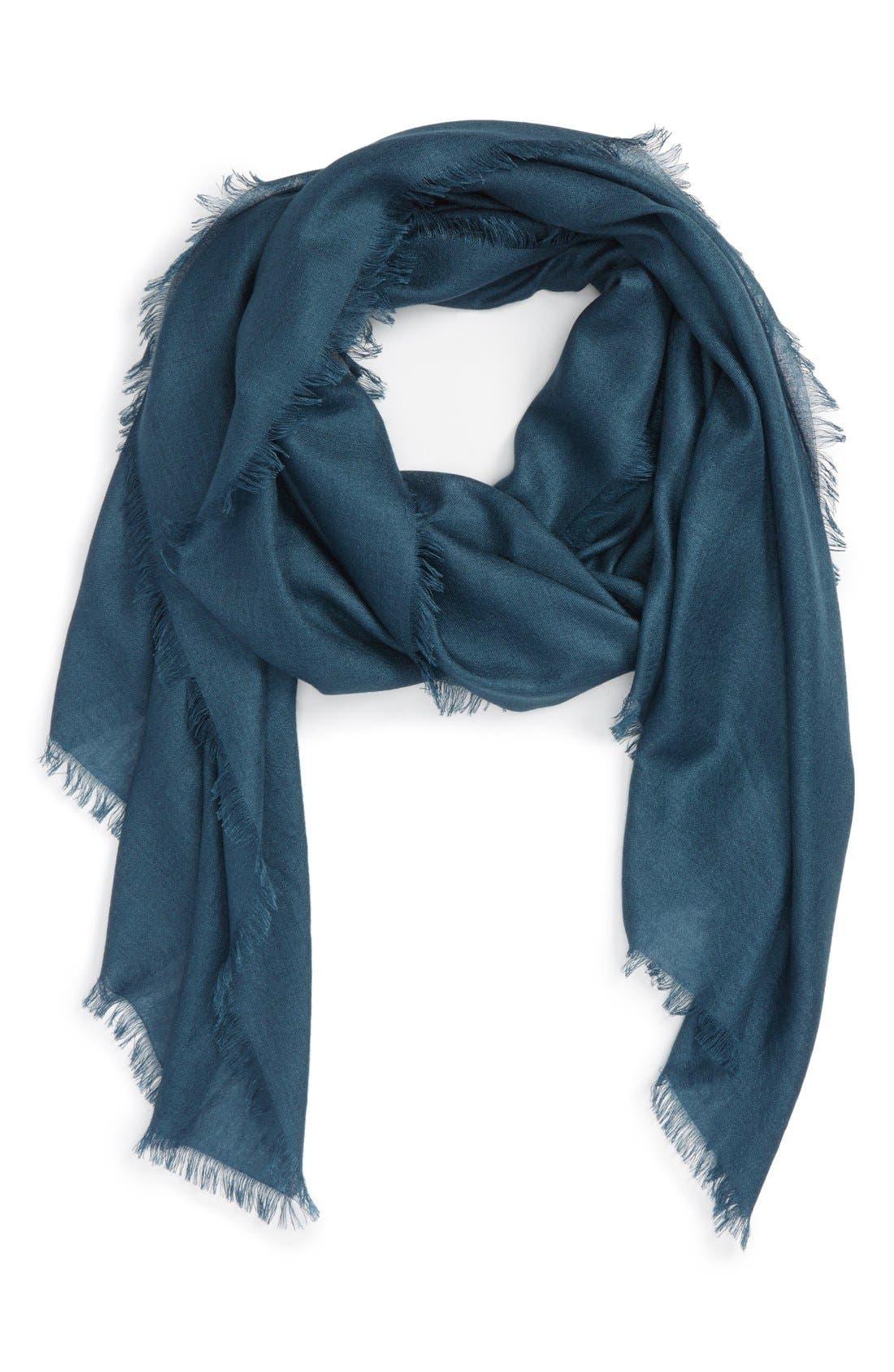 Main Image - Nordstrom Cashmere & Silk Wrap