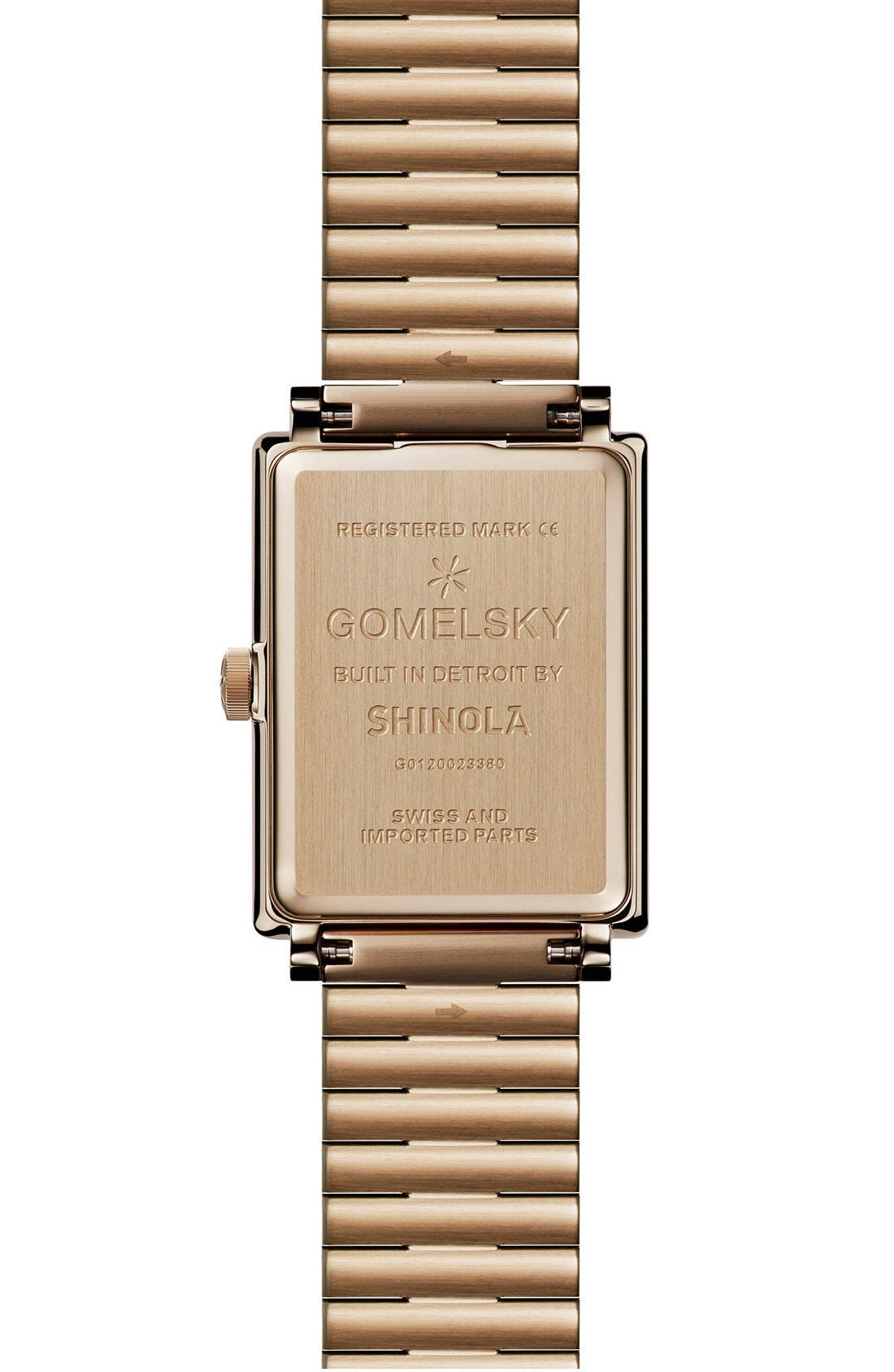 Alternate Image 2  - Gomelsky The Shirley Fromer Bracelet Watch, 25mm x 35mm