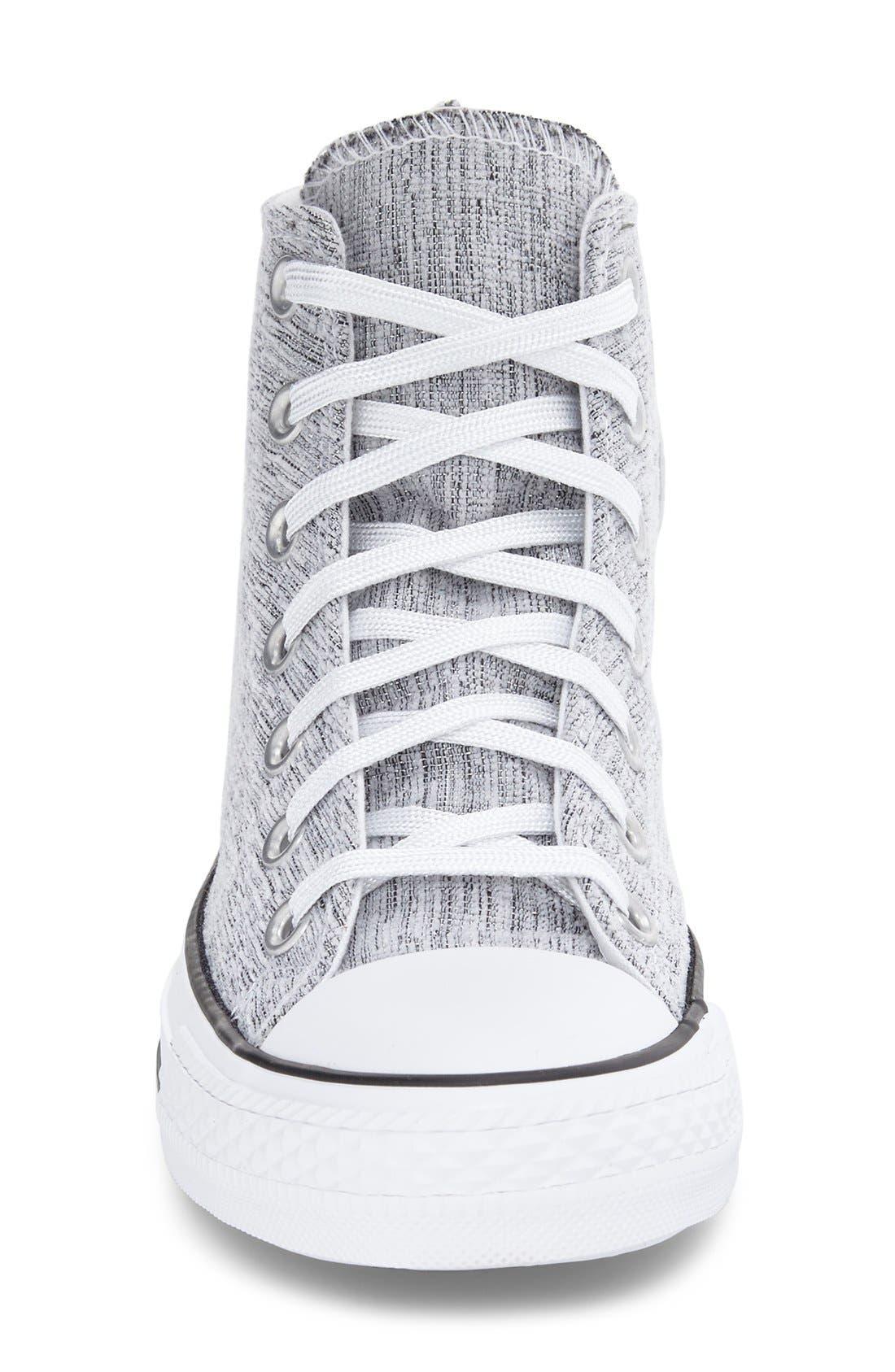 Alternate Image 3  - Converse Chuck Taylor® All Star® Knit High Top Sneaker (Women)