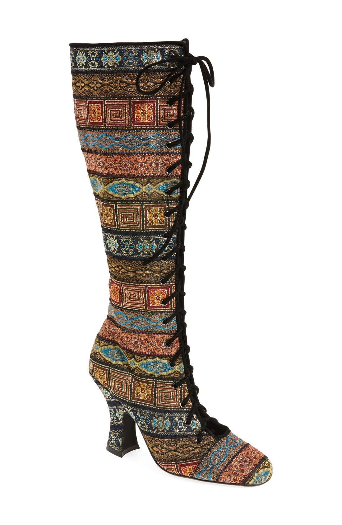 Alternate Image 1 Selected - Jeffrey Campbell Jestyne Knee High Boot (Women)