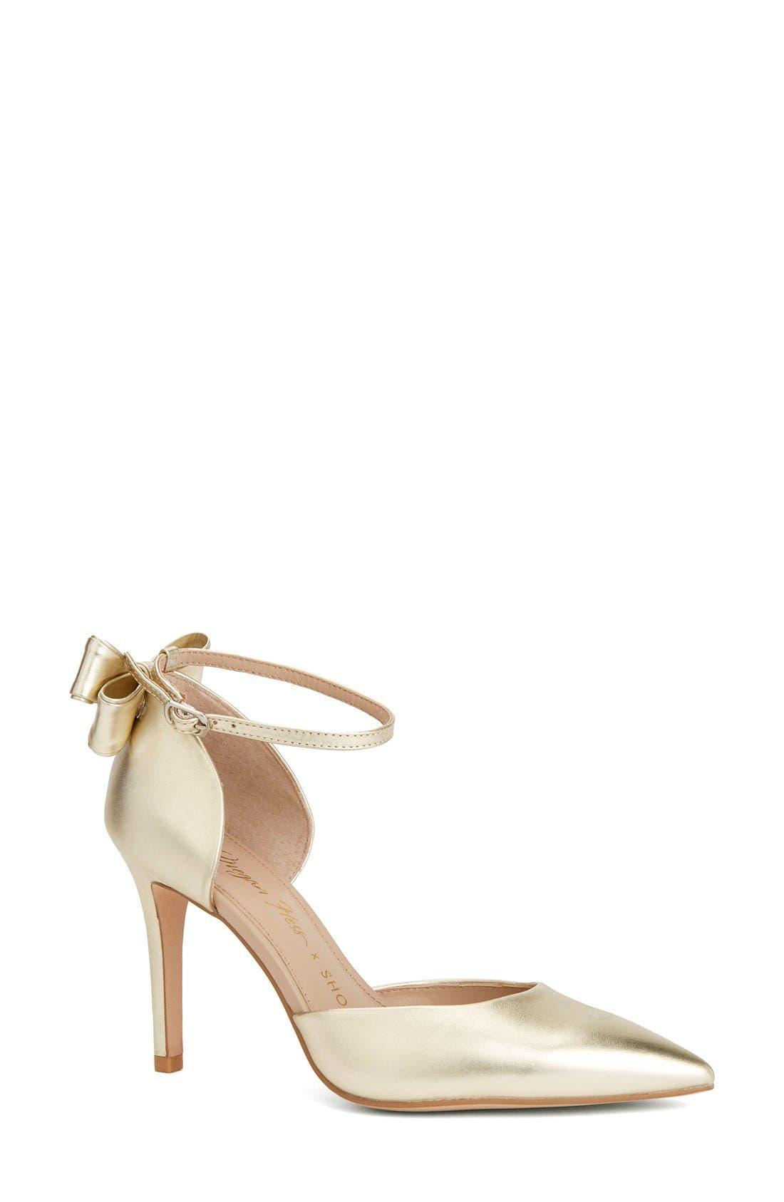 Shoes of Prey x Megan Hess Fleur-de-lis Collection d'Orsay Pump (Women)