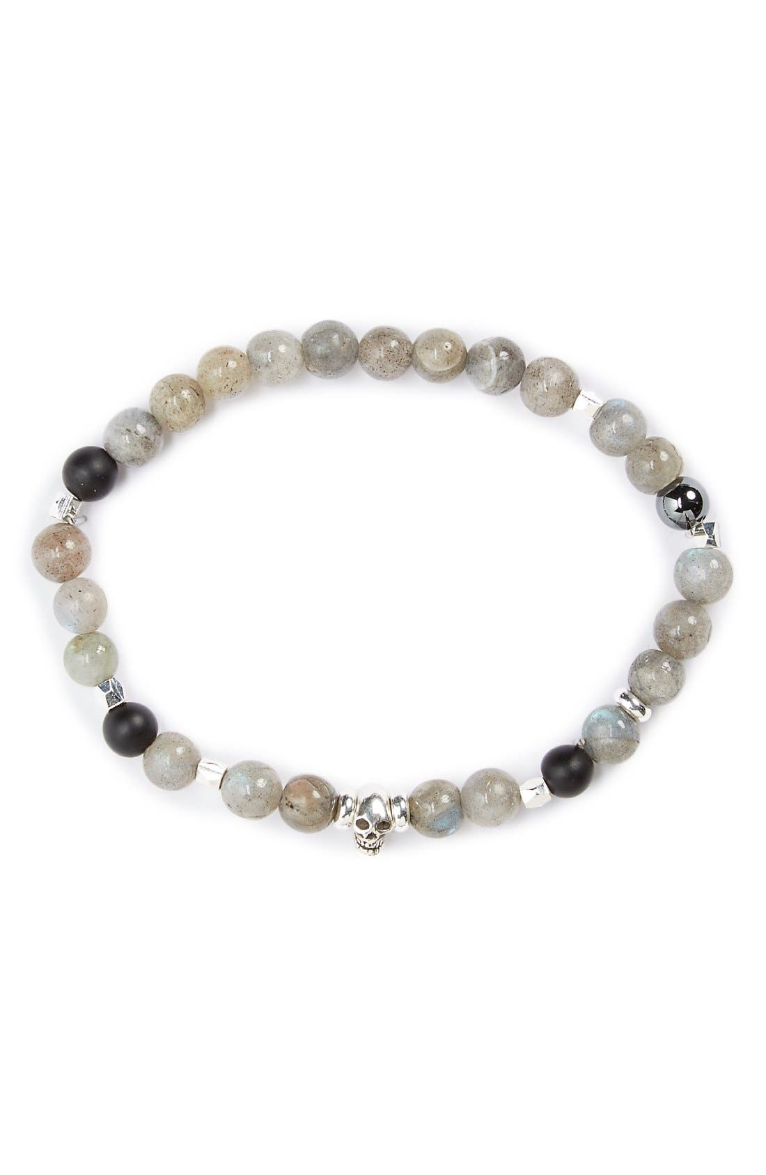 LINK UP Labradorite Bead Bracelet