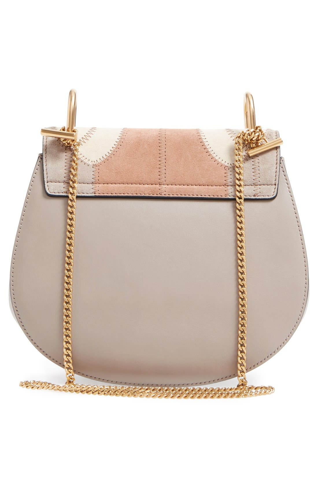 Alternate Image 3  - Chloé 'Small Drew' Patchwork Suede Shoulder Bag