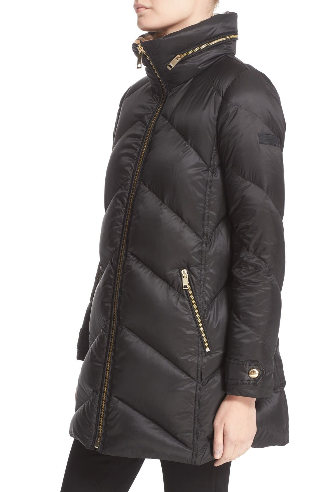 Alternate Image 6  - Burberry Eastwick Chevron Quilted Coat