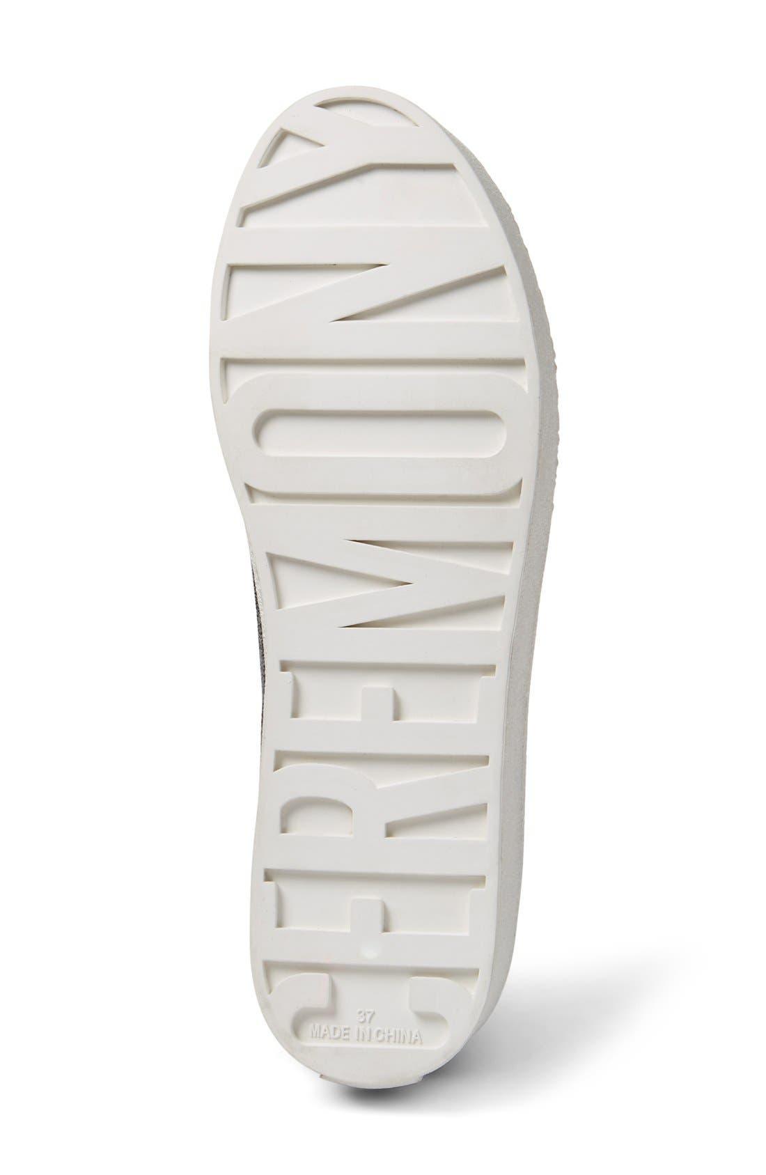 Alternate Image 4  - Opening Ceremony Cici Ribbed Jersey Platform Sneaker (Women)