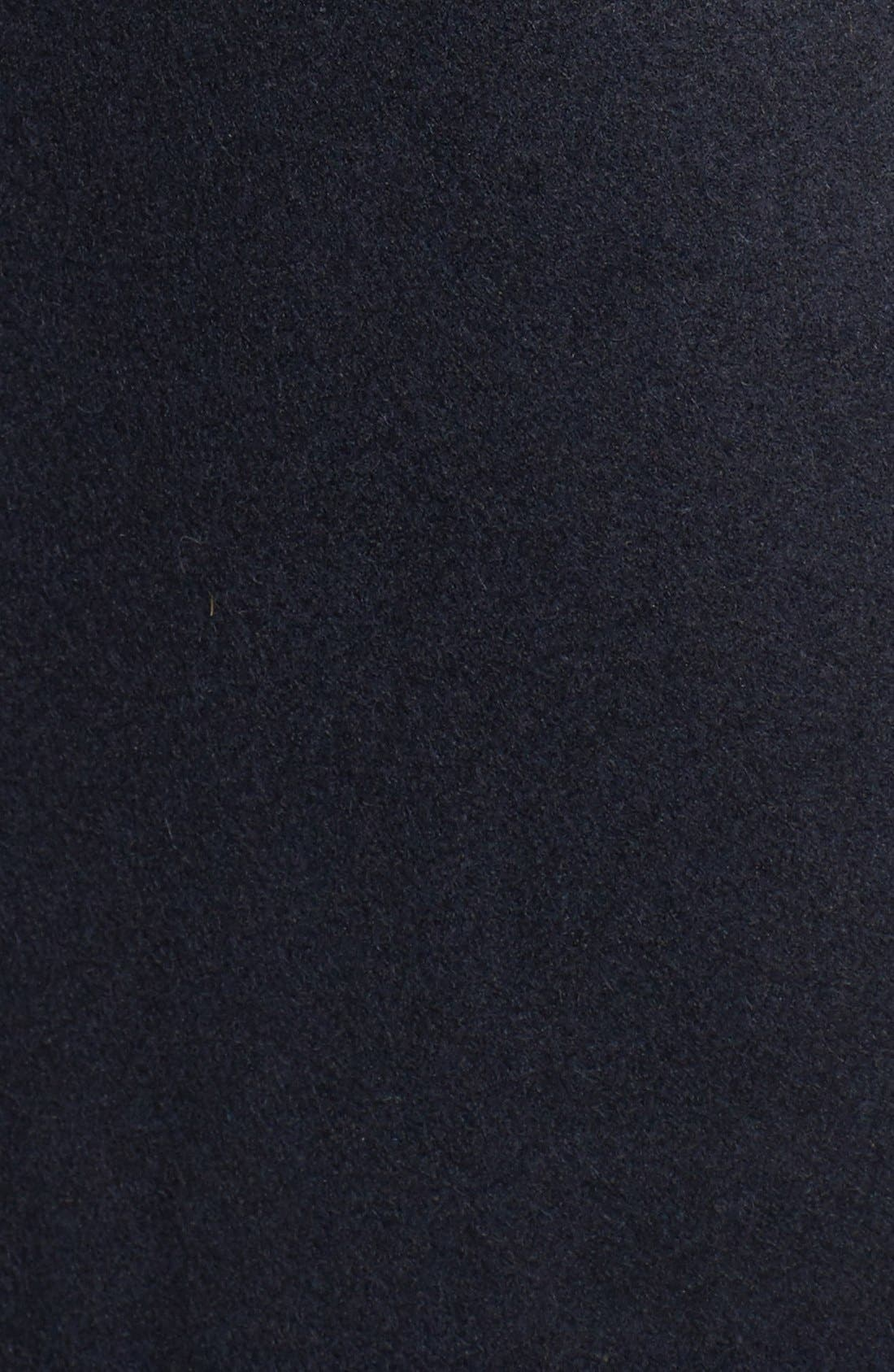 Alternate Image 5  - MICHAEL Michael Kors Long Double Breasted Peacoat