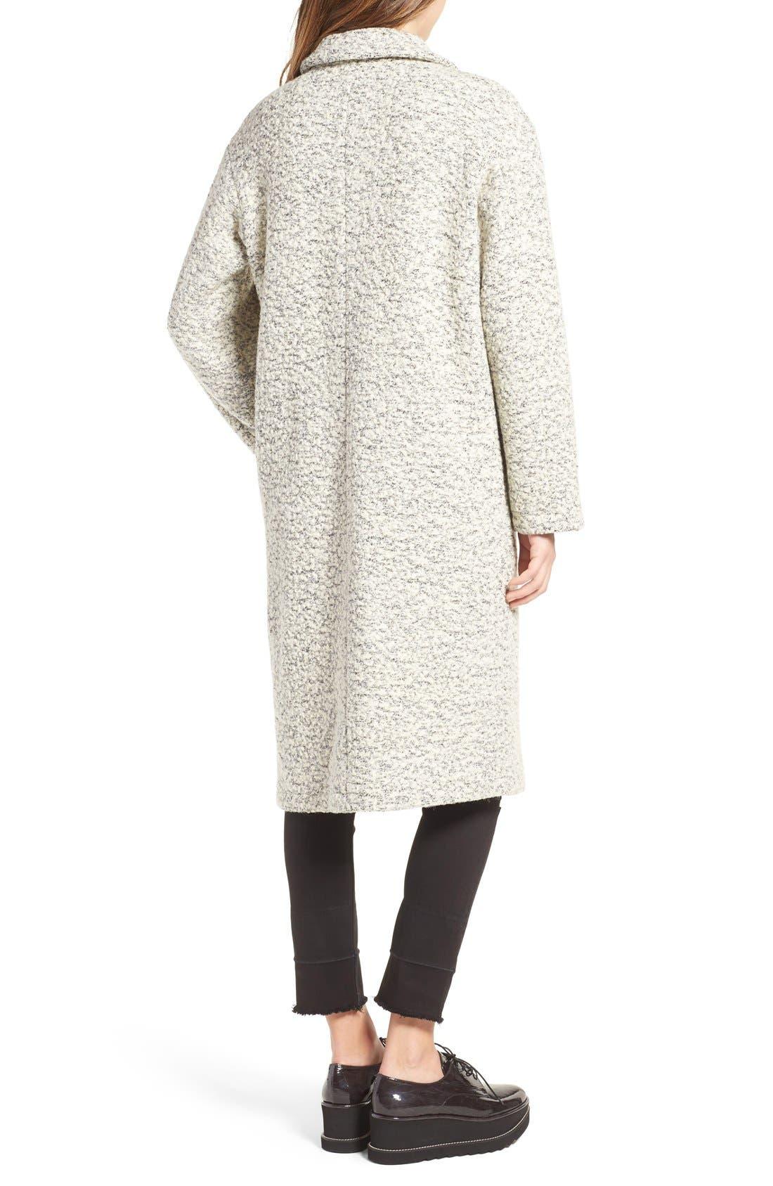 Alternate Image 3  - Glamorous Marled Dress Coat