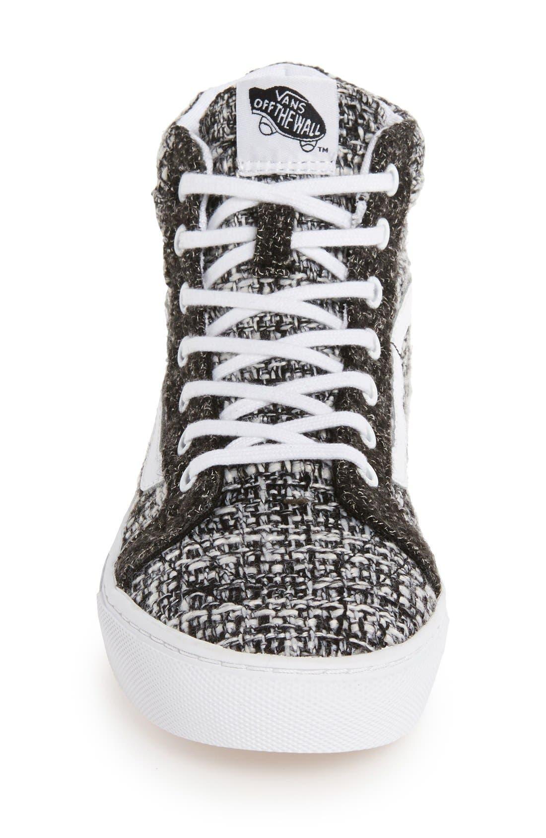 Alternate Image 3  - Vans Sk8-Hi High Top Sneaker (Women)