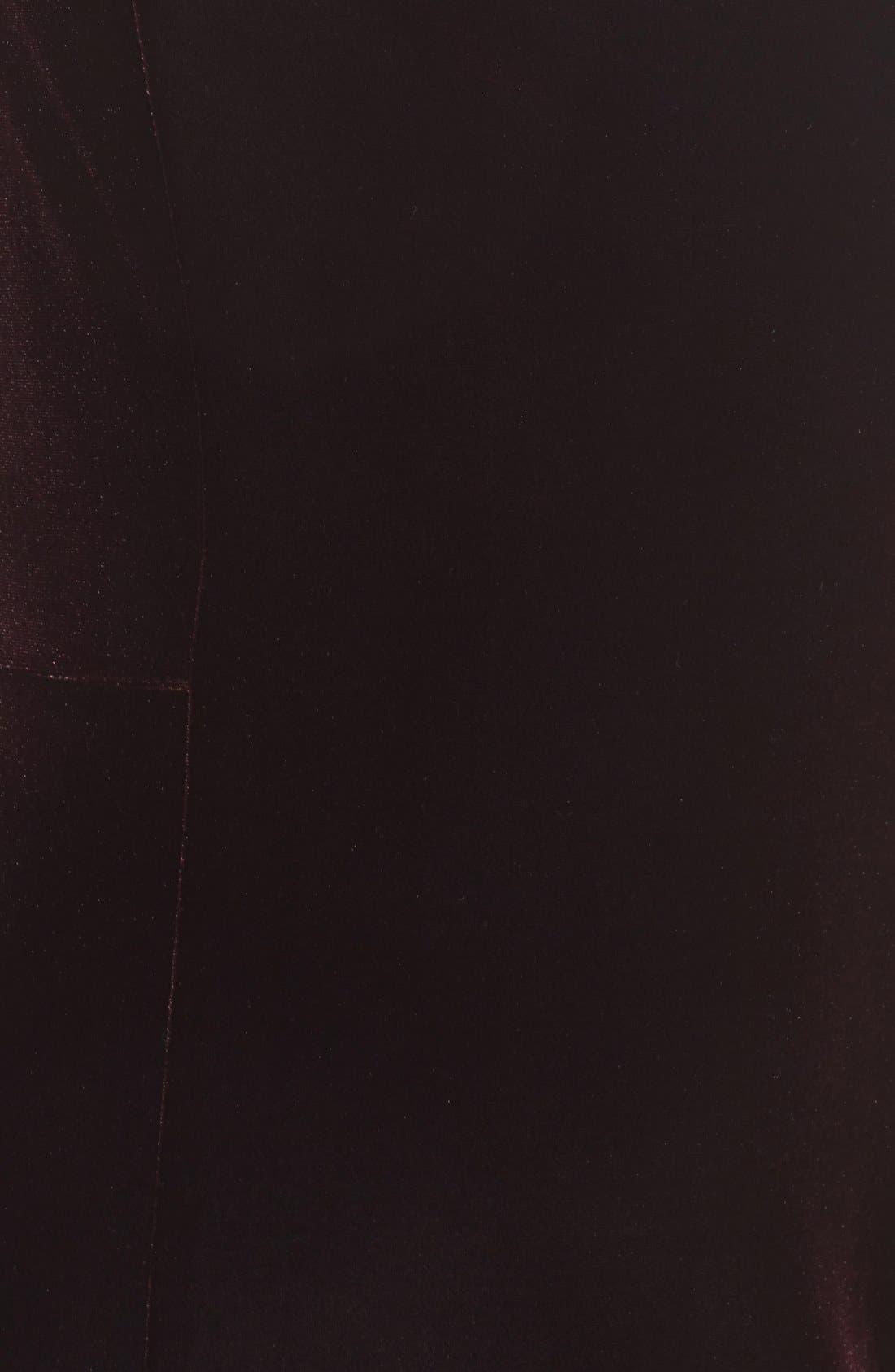 Alternate Image 6  - Eliza J Velvet Cutout Sheath Dress