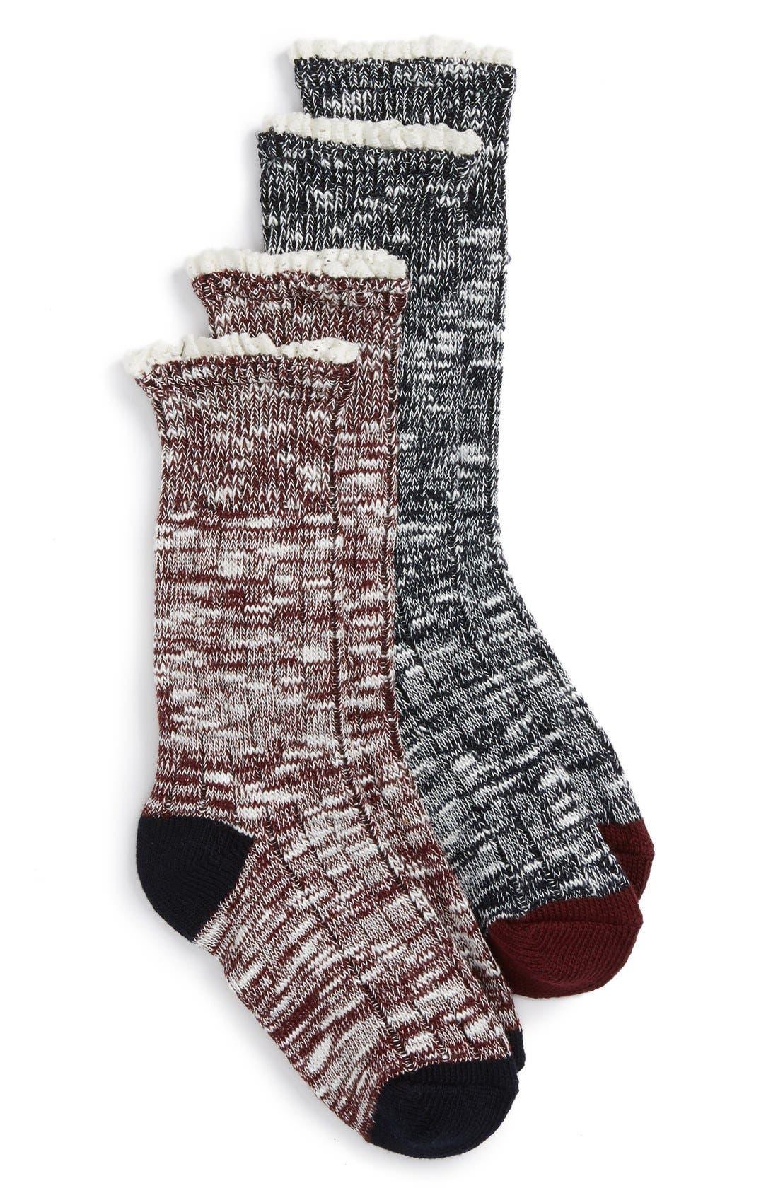 TUCKER + TATE 2-Pack Marled Socks