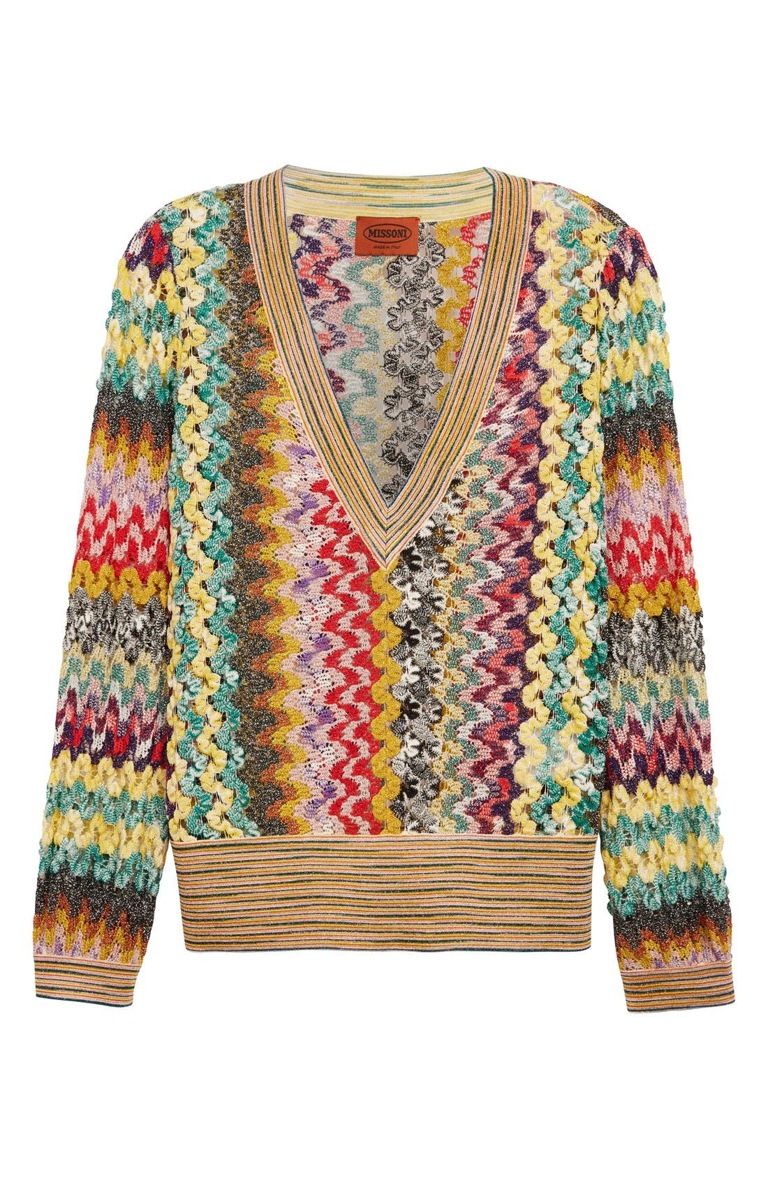 Alternate Image 4  - Missoni Metallic Knit Sweater