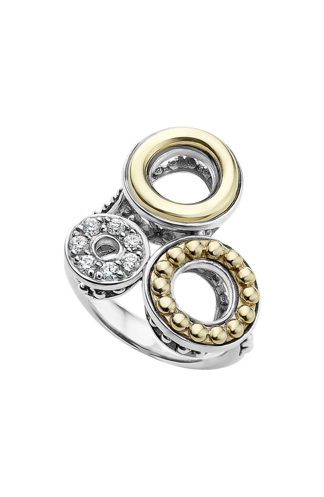 LAGOS Enso Diamond Pavé Statement Ring
