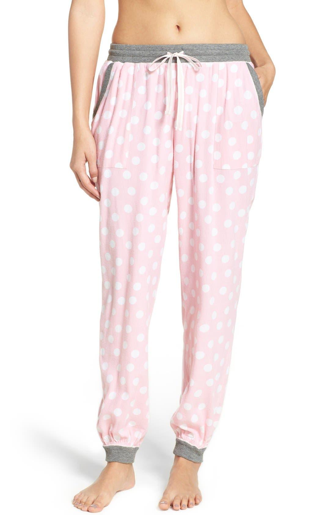 Alternate Image 1 Selected - kensie Jogger Pajama Pants