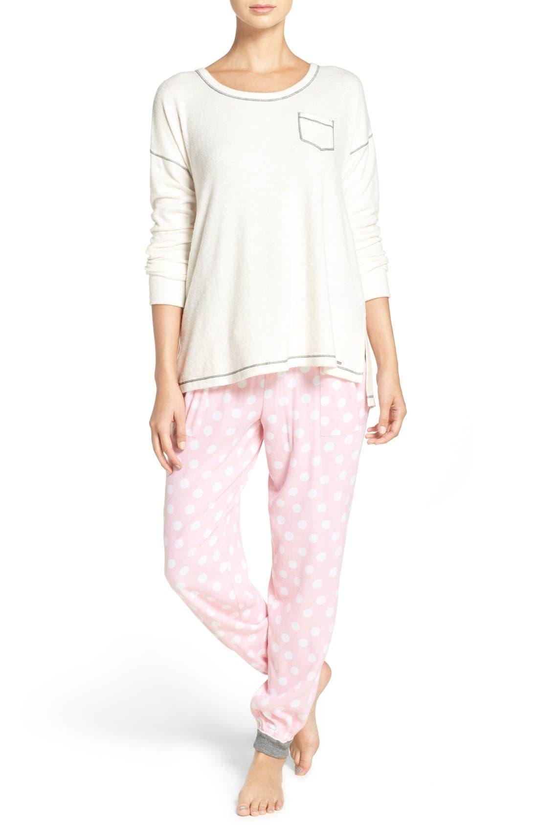 Alternate Image 6  - kensie Jogger Pajama Pants
