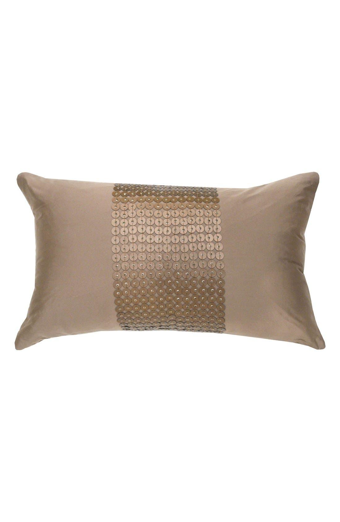 Catherine Malandrino Metallic Accent Pillow