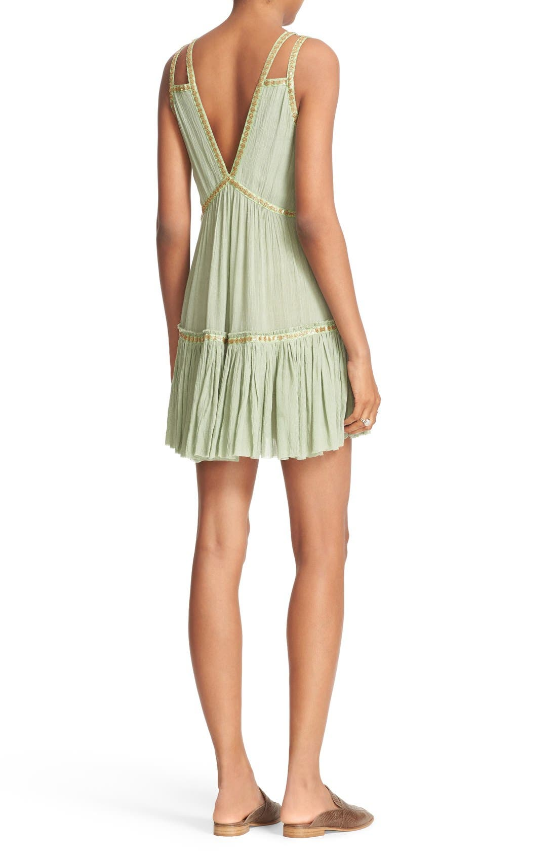 Alternate Image 2  - Free People Shine Marisol Minidress