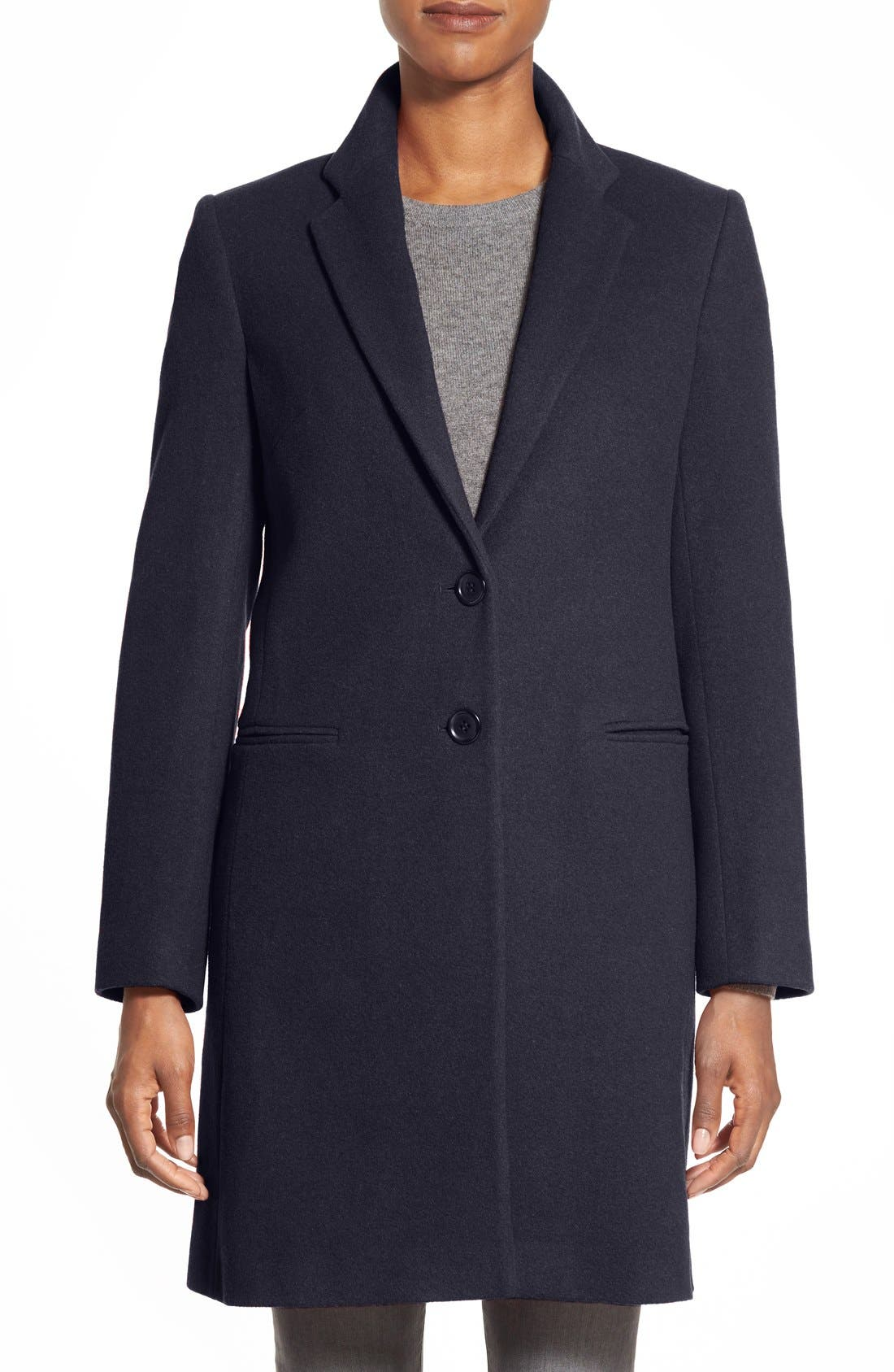Helene Berman Wool Blend College Coat