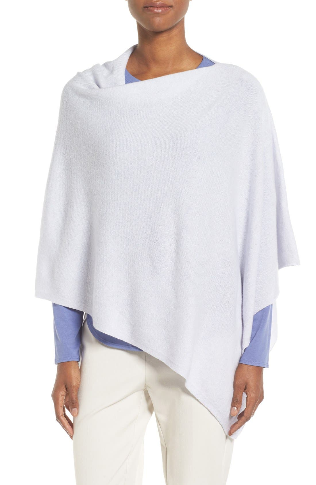 Main Image - Eileen Fisher Cashmere Poncho