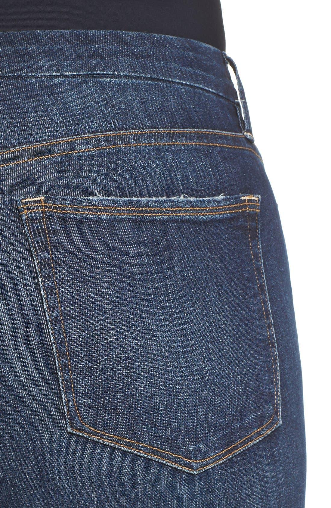 Alternate Image 6  - Good American Good Legs Ripped Skinny Jeans