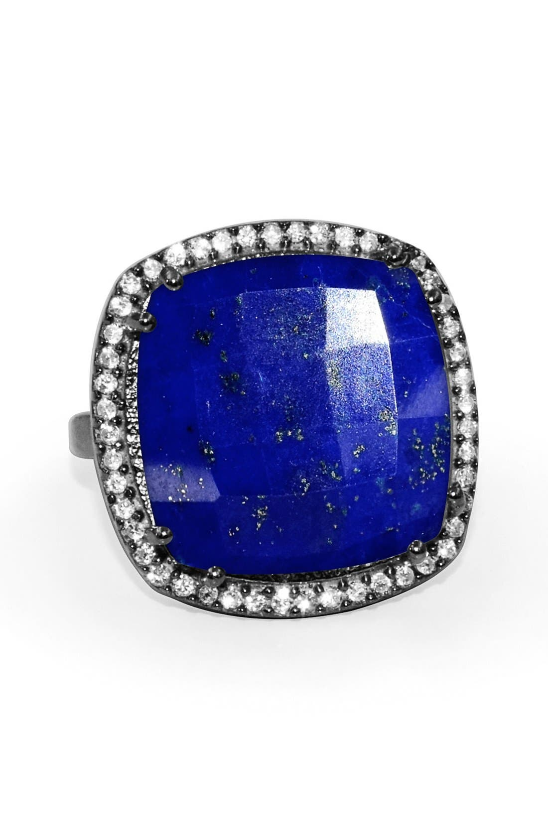 Alternate Image 1 Selected - Susan Hanover Designs Semiprecious Stone Ring