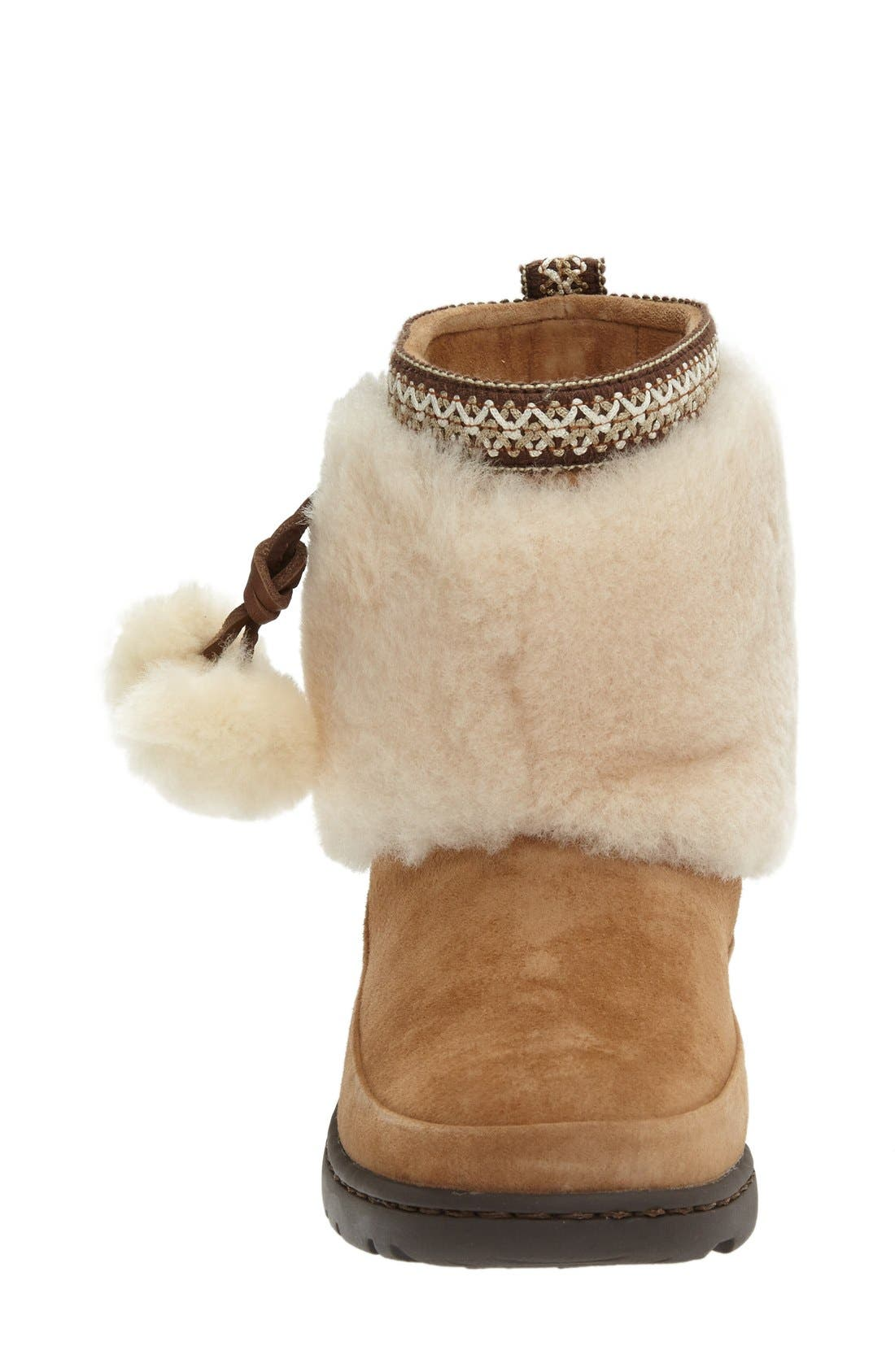 Alternate Image 3  - UGG® Brie Genuine Shearling Waterproof Bootie (Women)