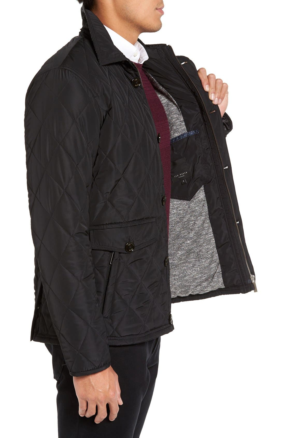 Alternate Image 3  - Ted Baker London Quilted Jacket