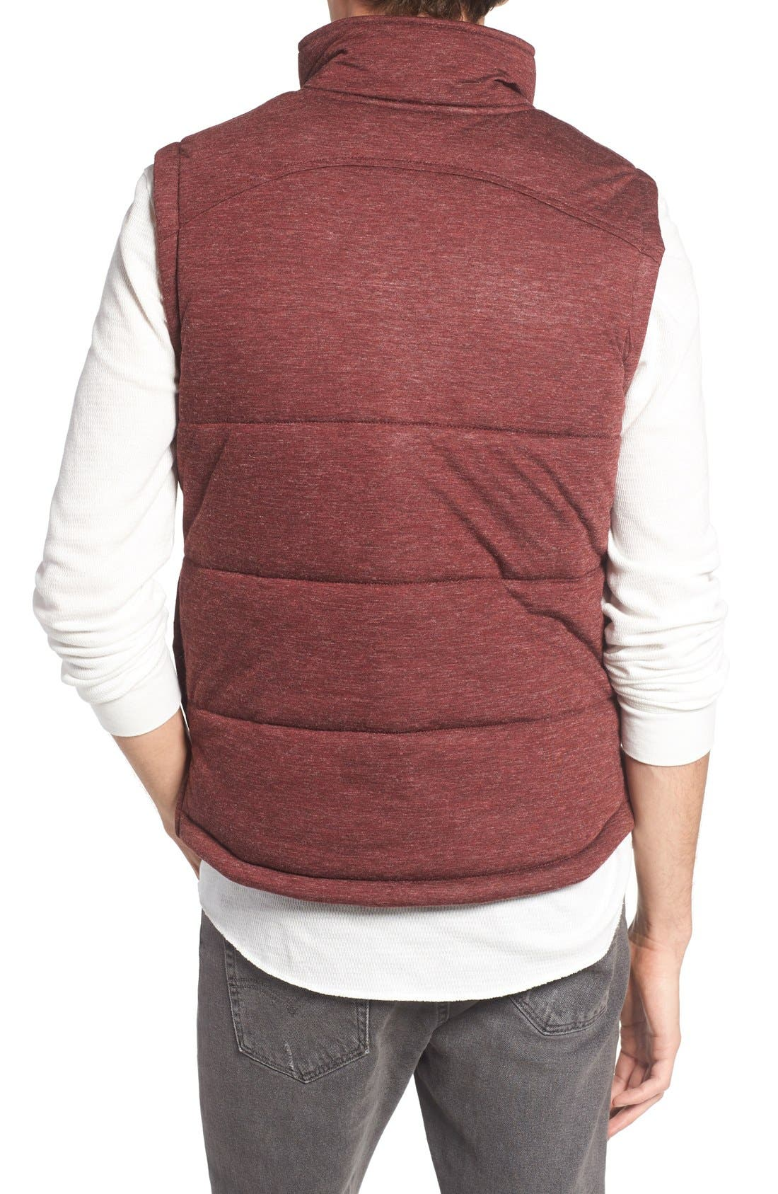 Alternate Image 2  - Kane & Unke Heathered Jersey Vest