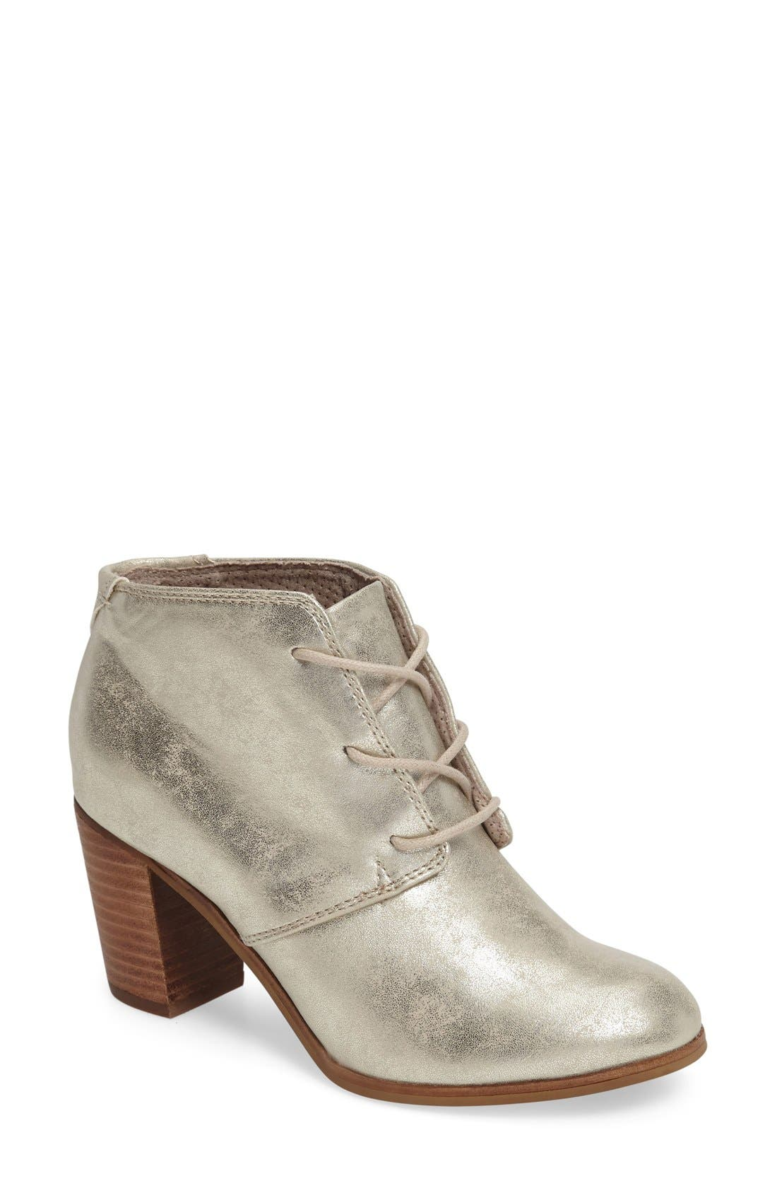 Alternate Image 1 Selected - TOMS Lunata Lace-Up Bootie (Women)