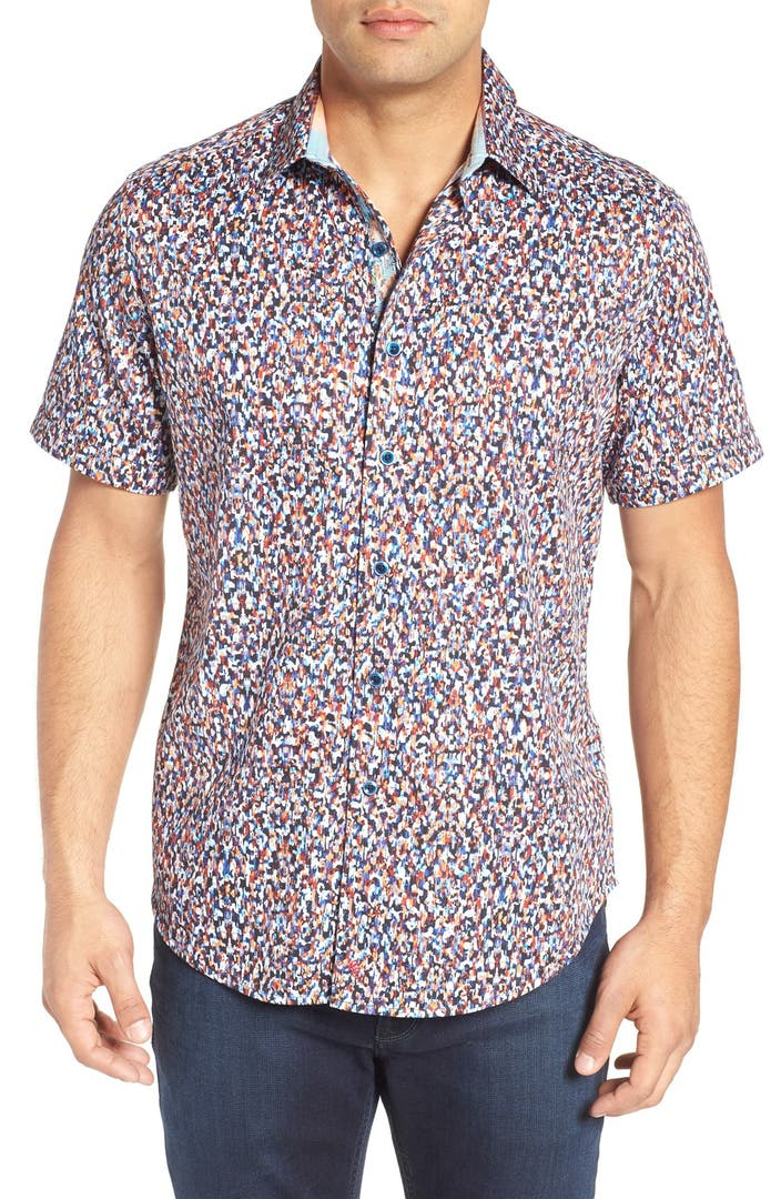 Robert graham mohave classic fit print sport shirt nordstrom for Robert graham sport shirt